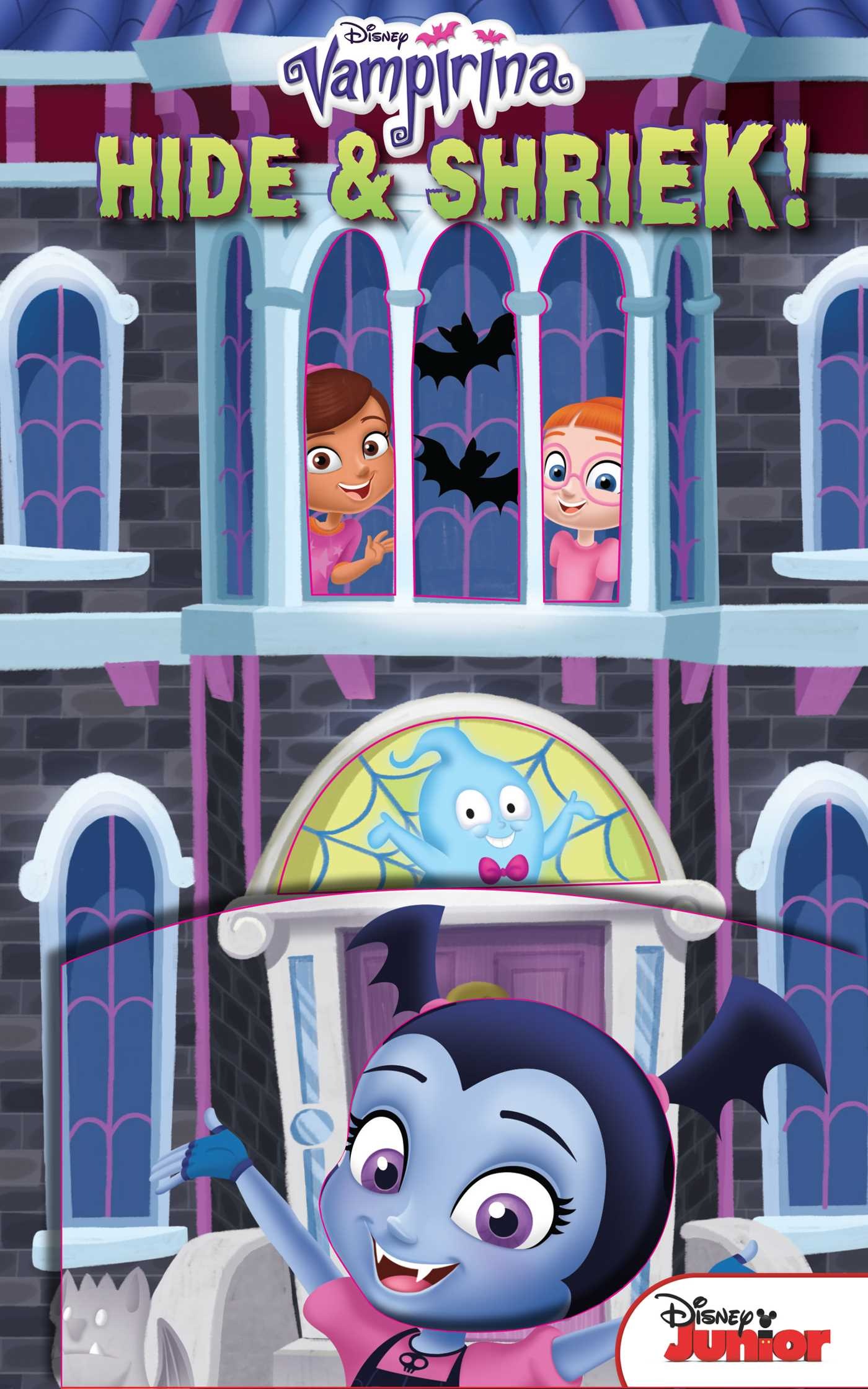 Disney vampirina guess who hide shriek 9780794441524 hr