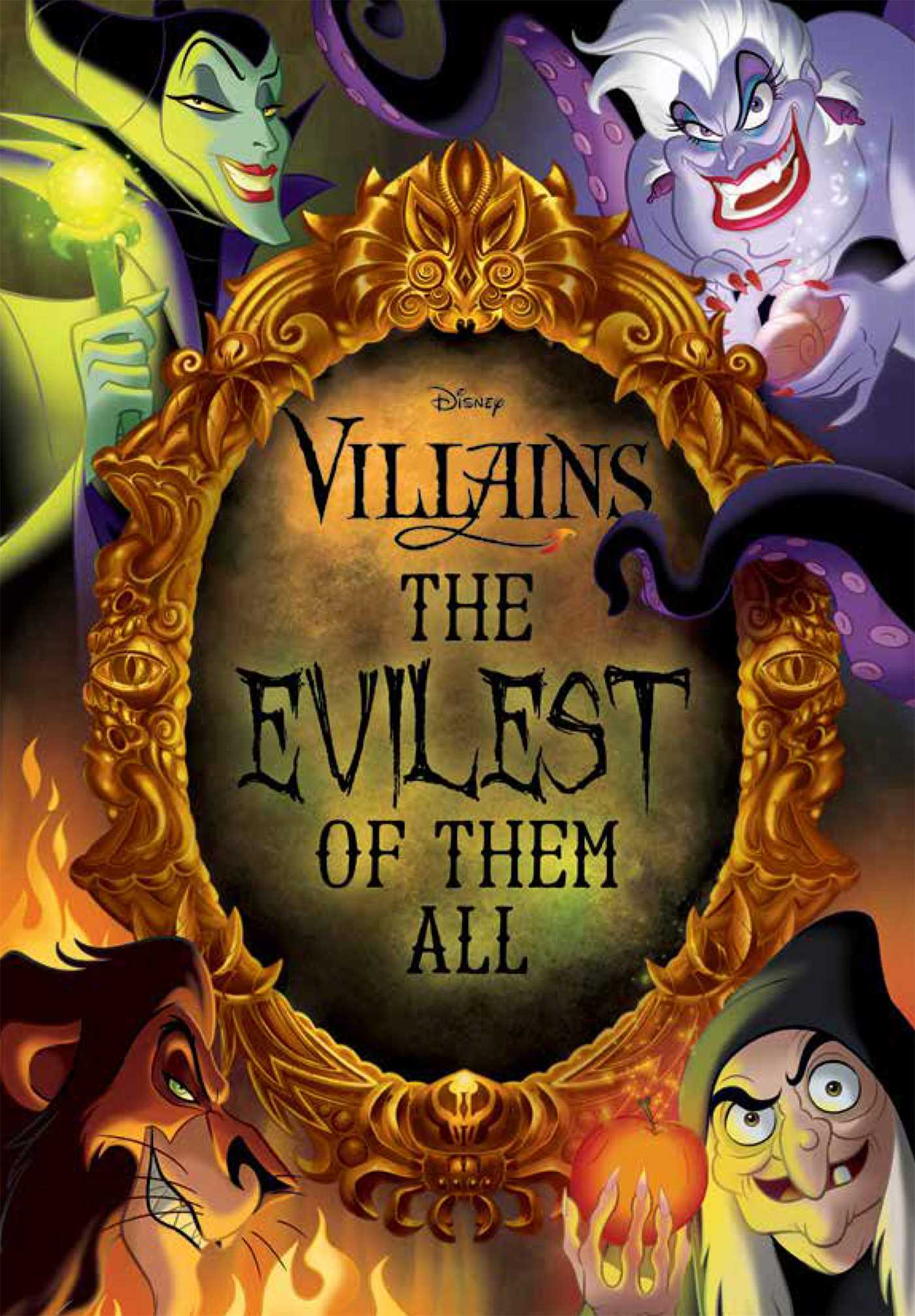 Disney villains the evilest of them all 9780794441609 hr