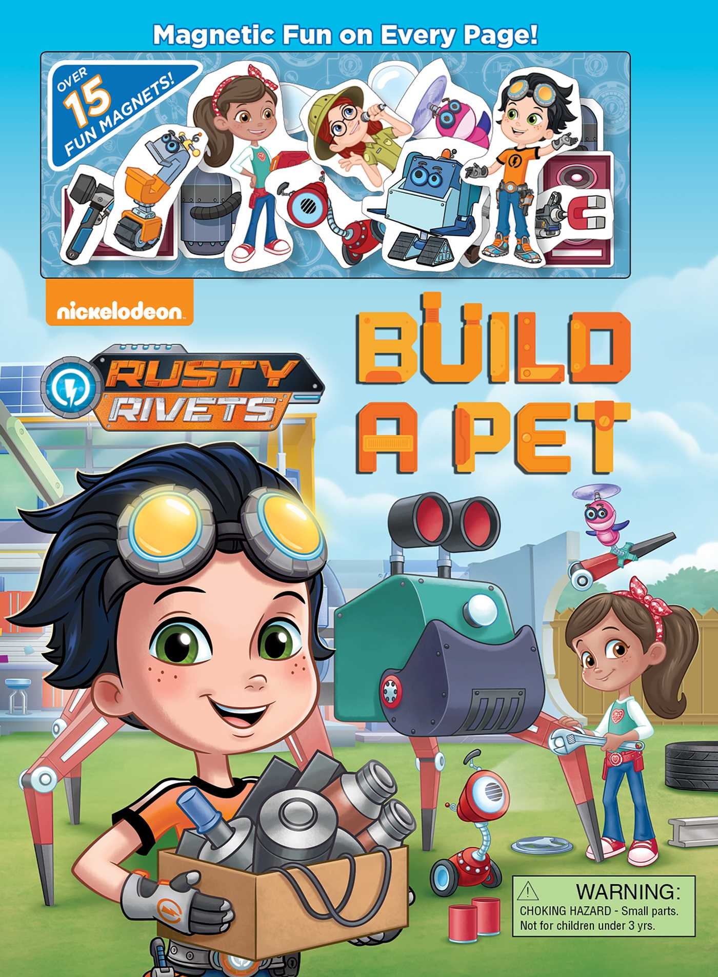 Rusty rivets build a pet 9780794441715 hr