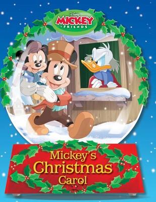 Disney Christmas Carol.Disney Mickey S Christmas Carol Book By Megan Roth John