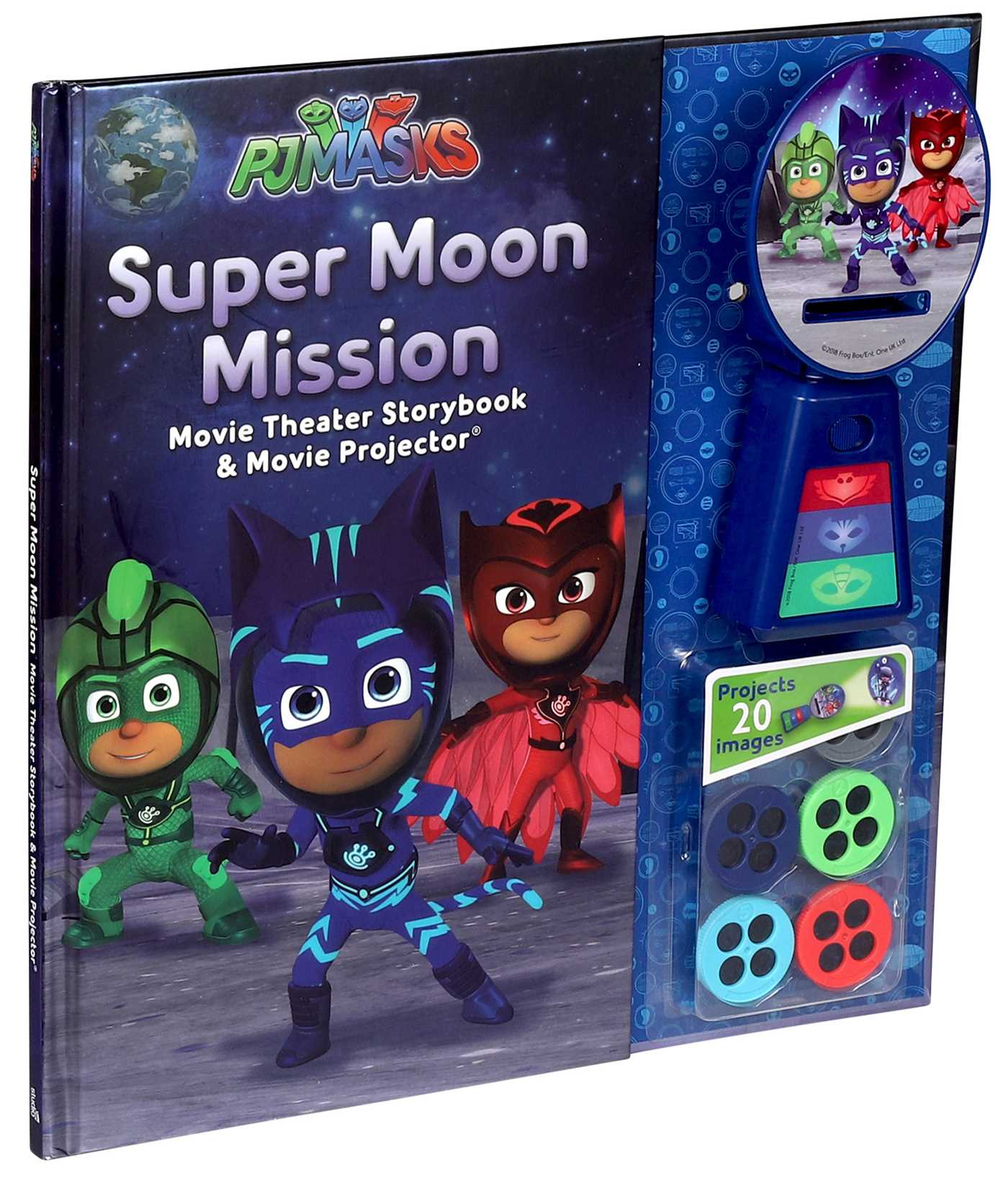 pj masks super moon mission movie theater storybook book by pj
