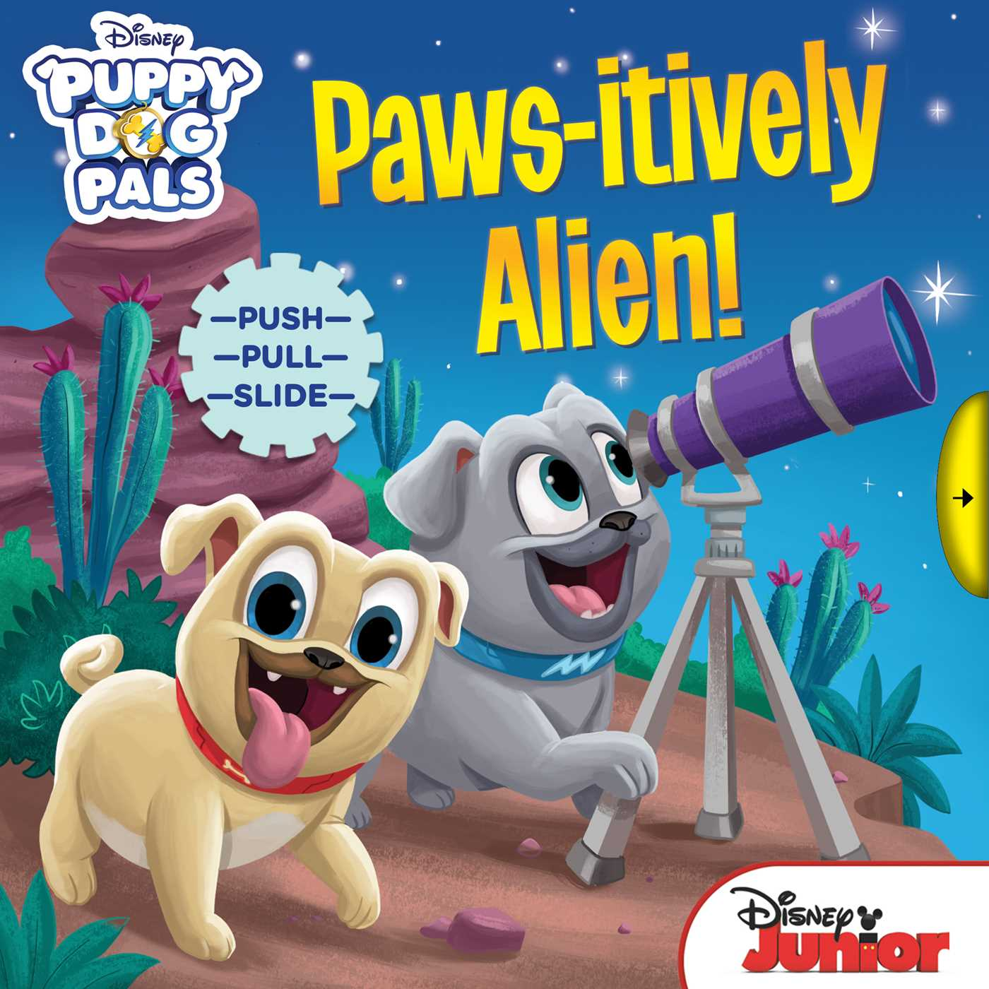 Disney puppy dog pals paws itively alien 9780794442019 hr