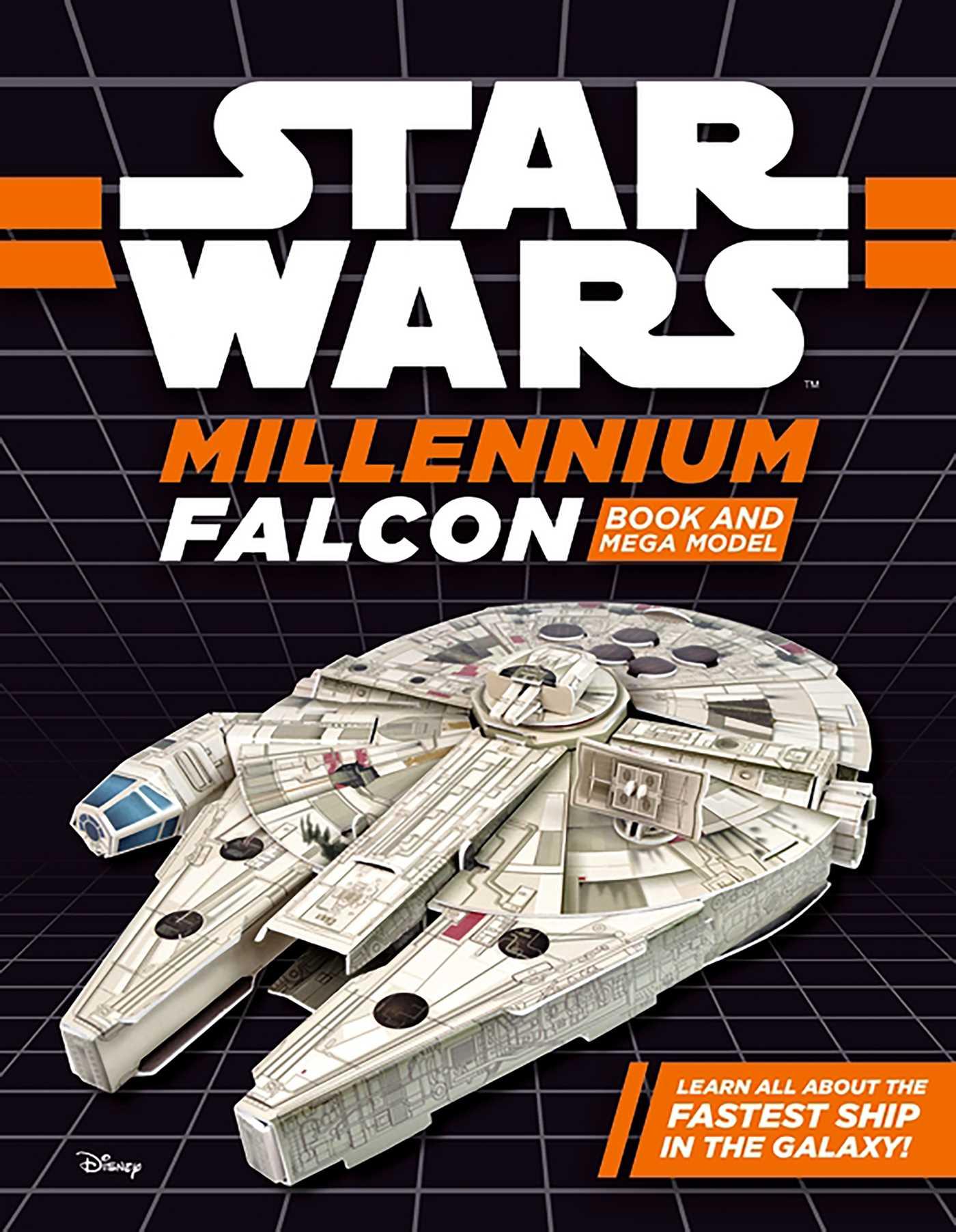 Star wars millennium falcon book and mega model 9780794442071 hr