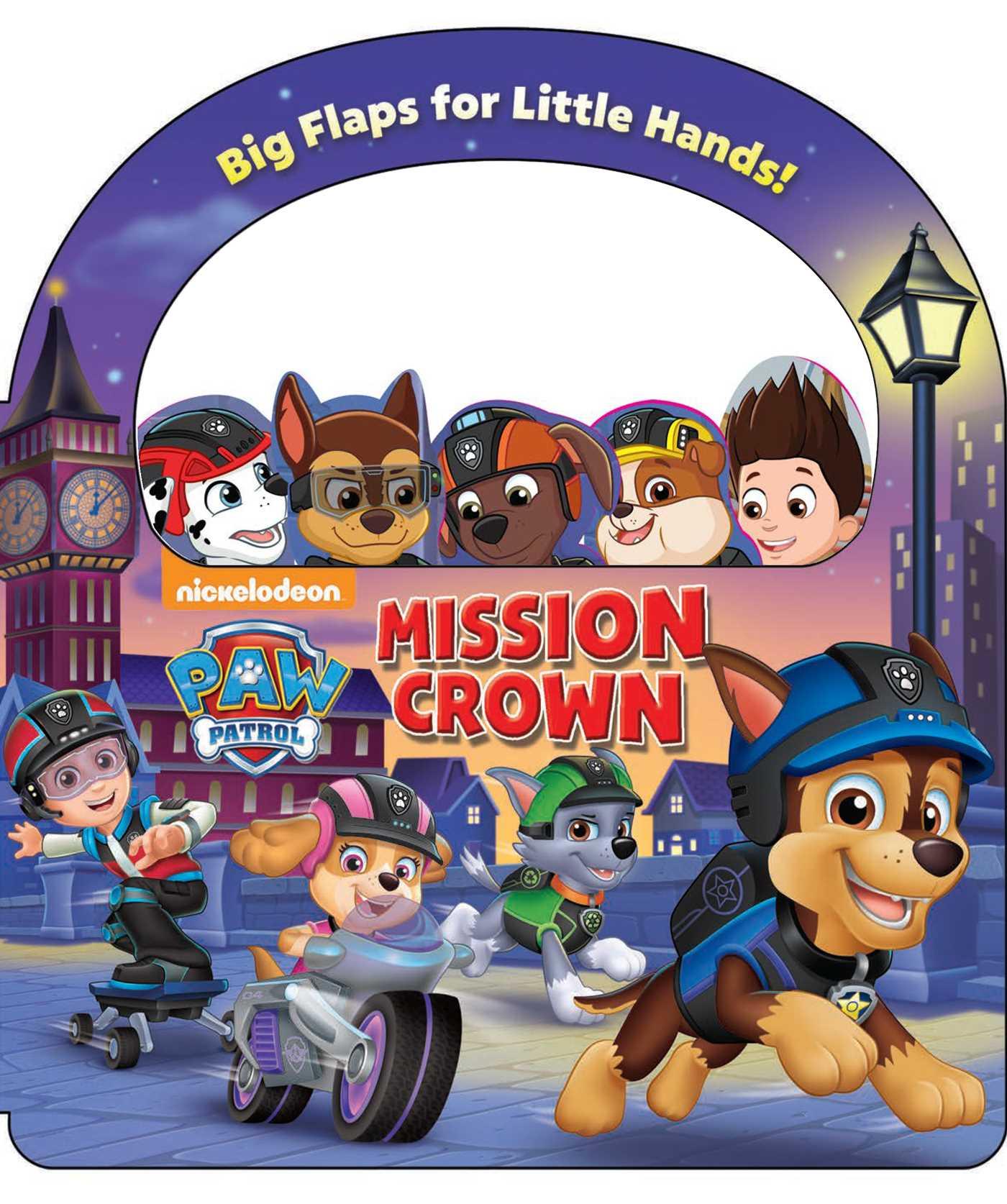 Paw patrol mission crown 9780794442132 hr