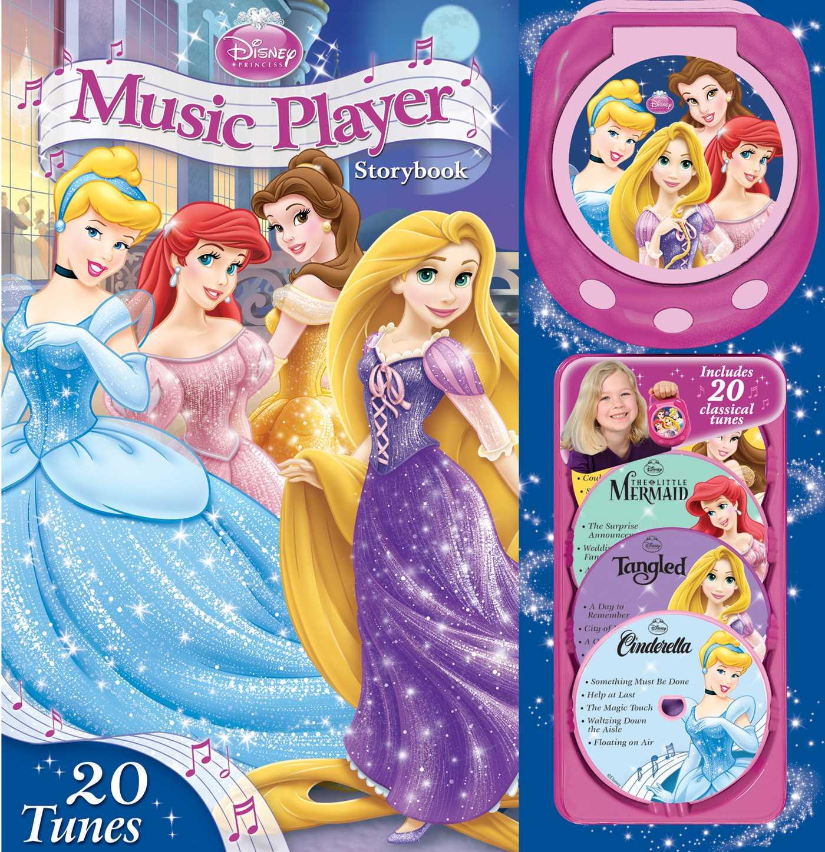 Disney princess music player storybook 9780794442170 hr