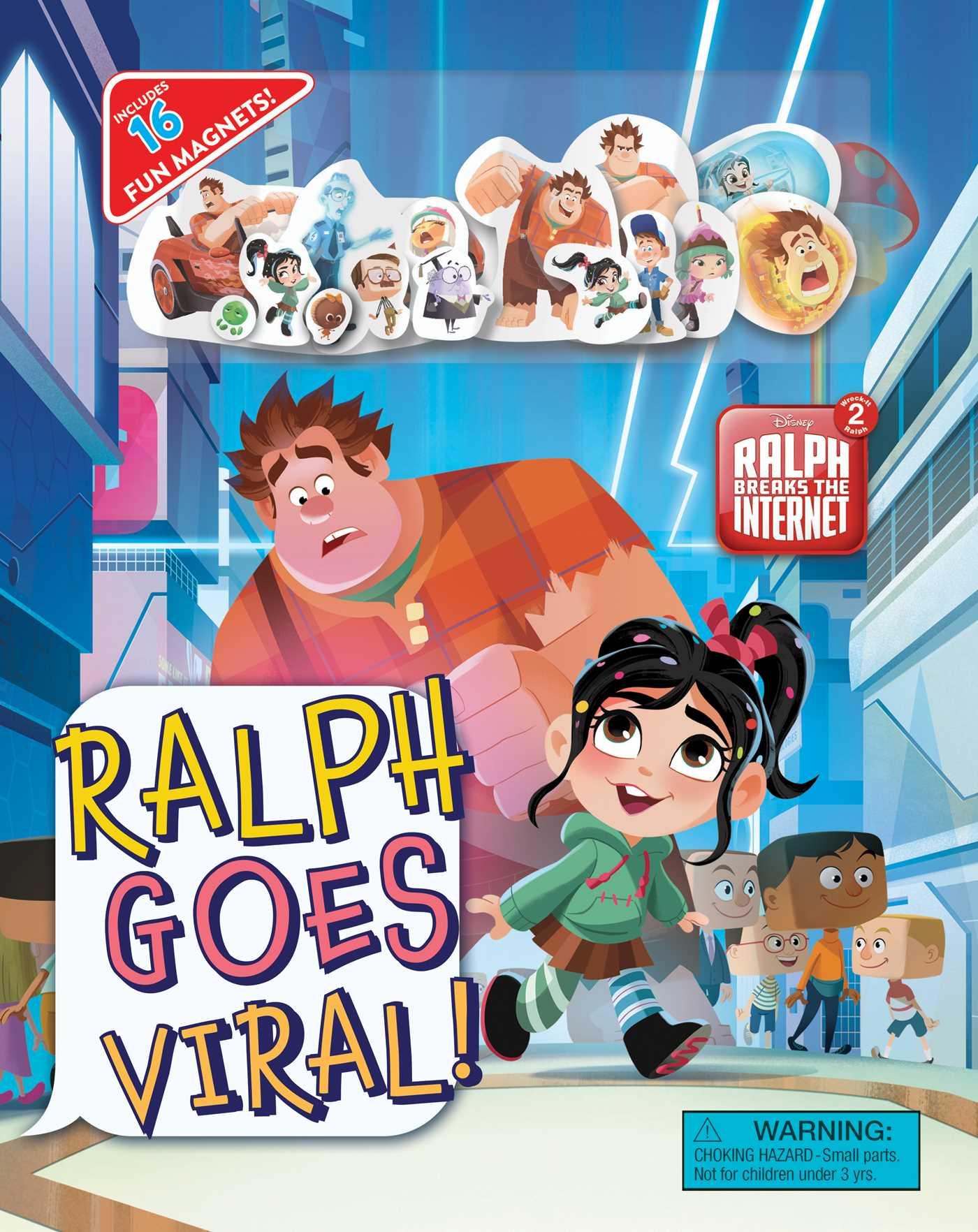Disney wreck it ralph 2 ralph goes viral 9780794442286 hr