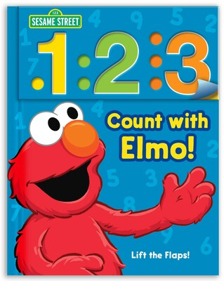 Sesame Street: 1 2 3 Count with Elmo! | Book by Sesame ...