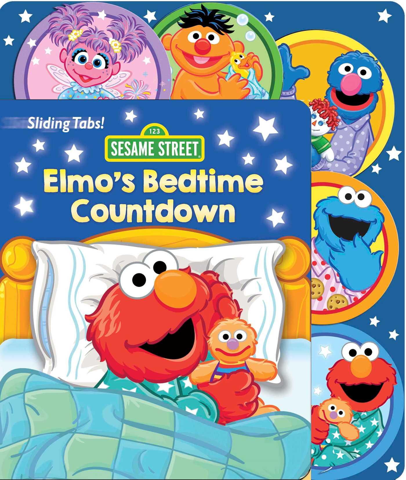 Sesame street elmos bedtime countdown 9780794442712 hr