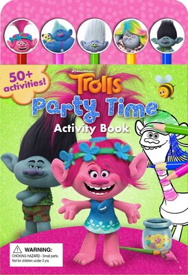 DreamWorks Trolls Party Time! Activity Book