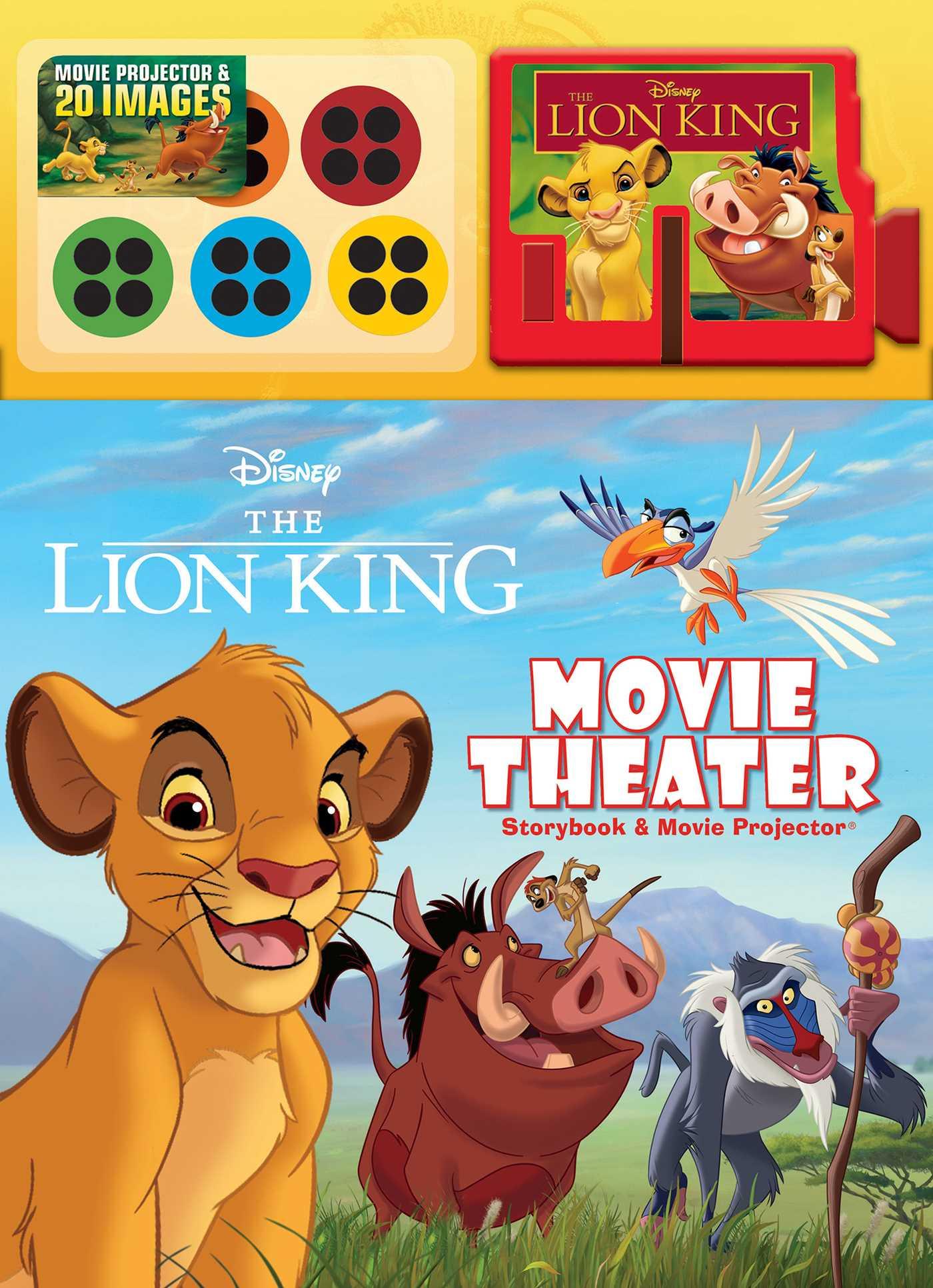 Disney The Lion King Movie Theater Storybook & Movie ...