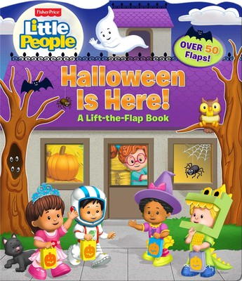 Fisher Price Little People Halloween Is Here Book By