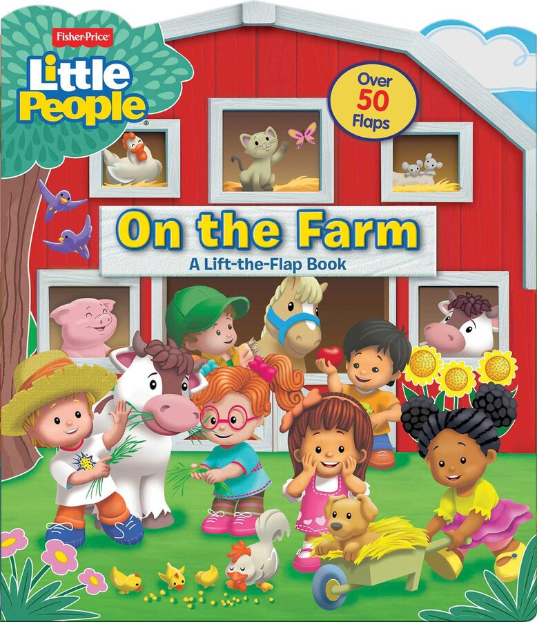 Fisher Price Little People On The Farm Book By Matt Mitter Pixel Mouse House Official Publisher Page Simon Schuster