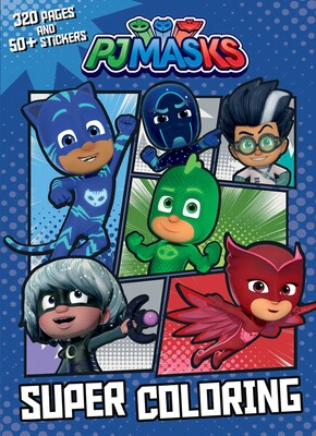Pj Masks Super Coloring Book By Editors Of Studio Fun International Official Publisher Page Simon Schuster