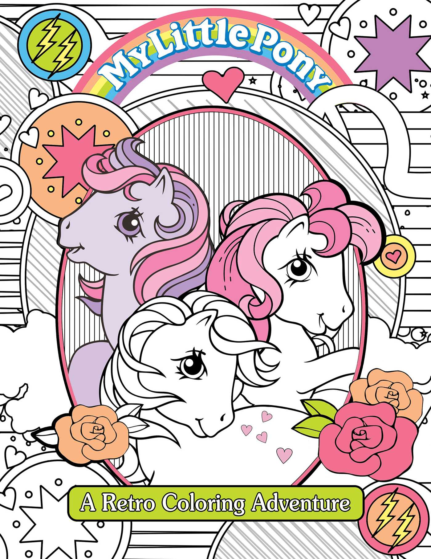 My Little Pony Retro Coloring Book Book By Editors Of