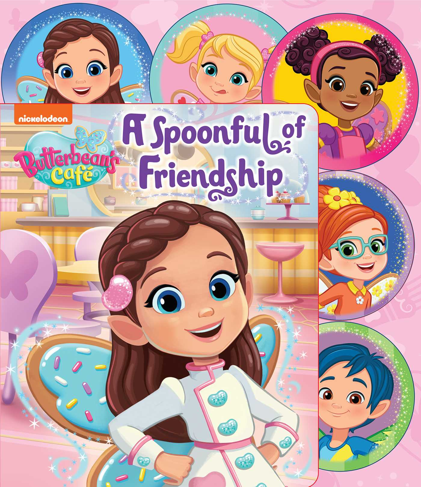 Nickelodeon Butterbean S Cafe A Spoonful Of Friendship Book By Courtney Acampora Mike Jackson Official Publisher Page Simon Schuster