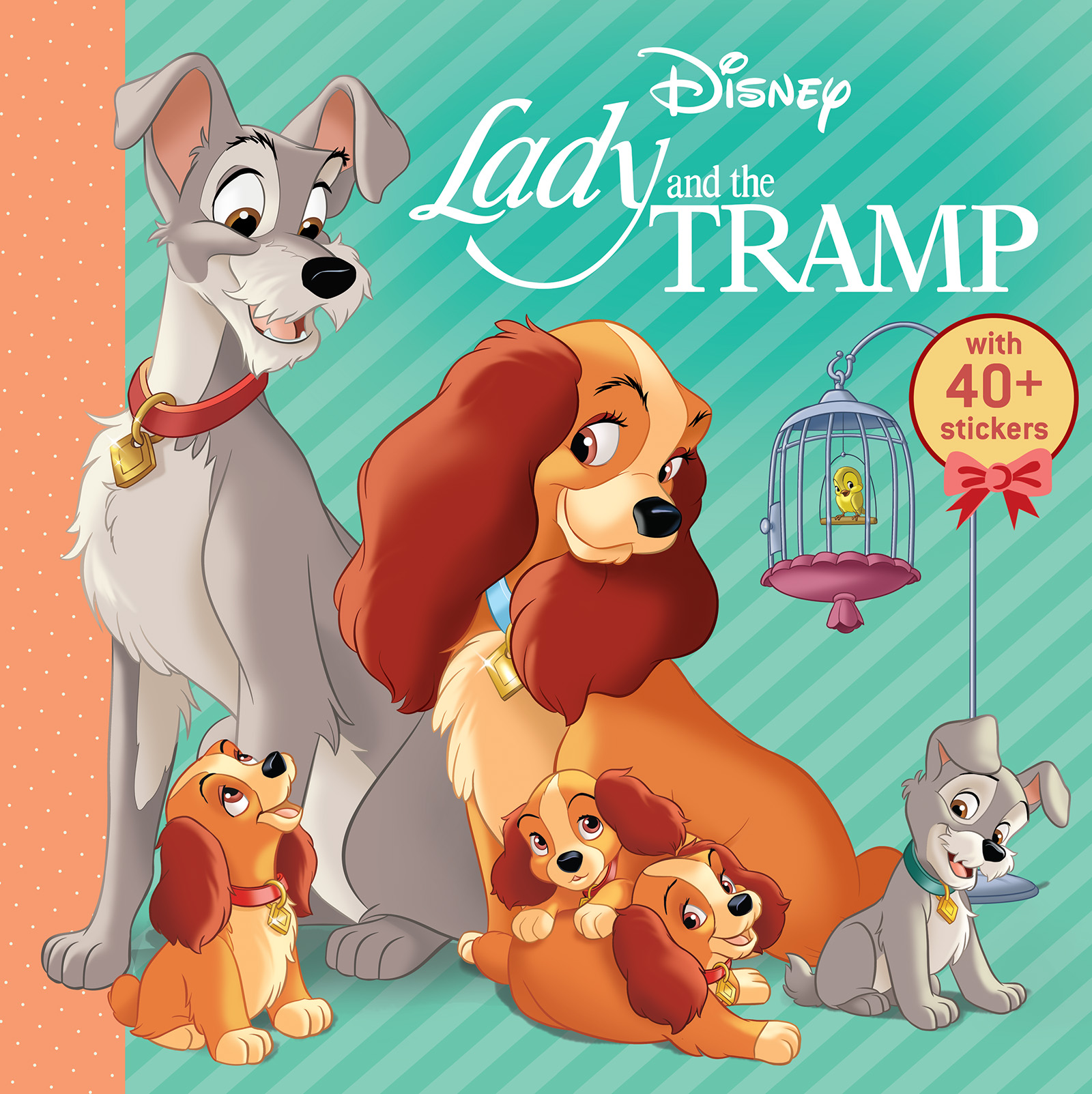 Disney Lady And The Tramp Book By Editors Of Studio Fun International Official Publisher Page Simon Schuster Canada