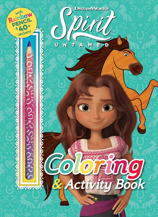 DreamWorks Spirit Untamed: Coloring & Activity Book Book By Editors Of  Studio Fun International Official Publisher Page Simon & Schuster