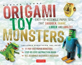 Buy Origami Toy Monsters Kit