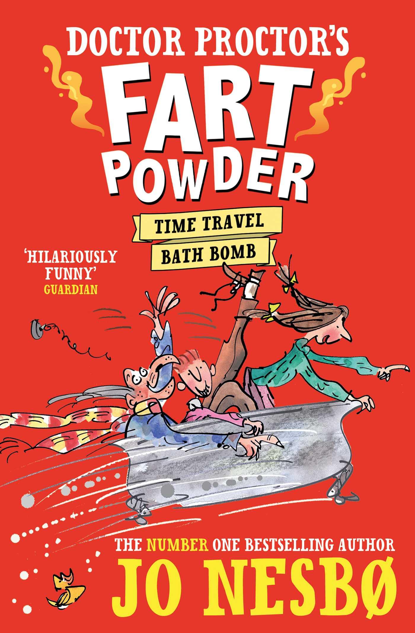 Doctor proctors fart powder time travel bath bomb 9780857077134 hr