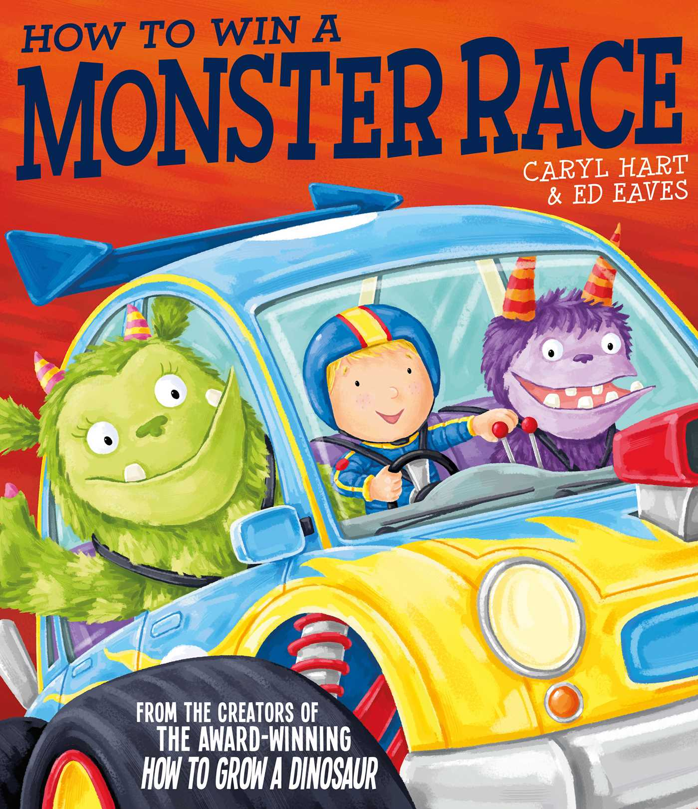 How to win a monster race 9780857079619 hr