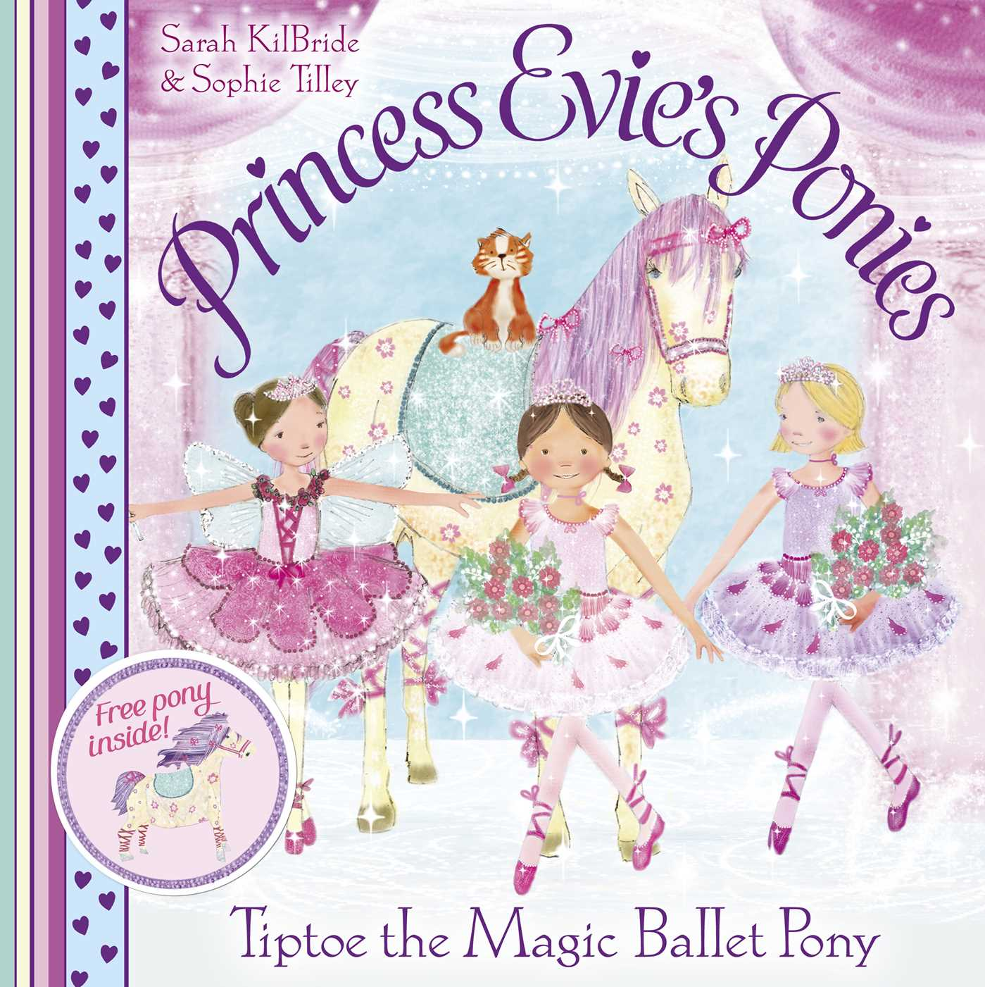 Princess evies ponies tiptoe the magic ballet 9780857079640 hr