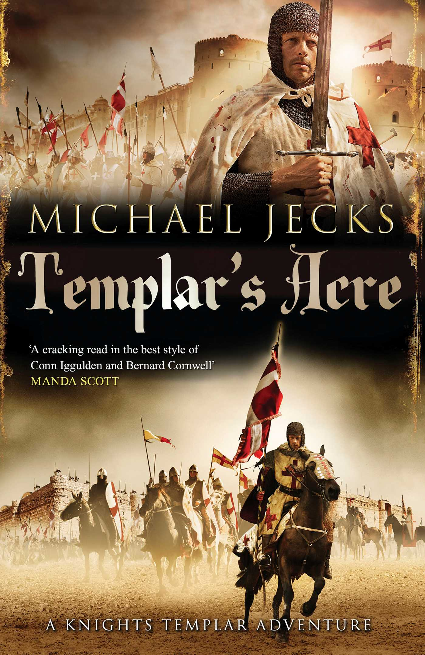 Templar's Acre | Book by Michael Jecks | Official Publisher
