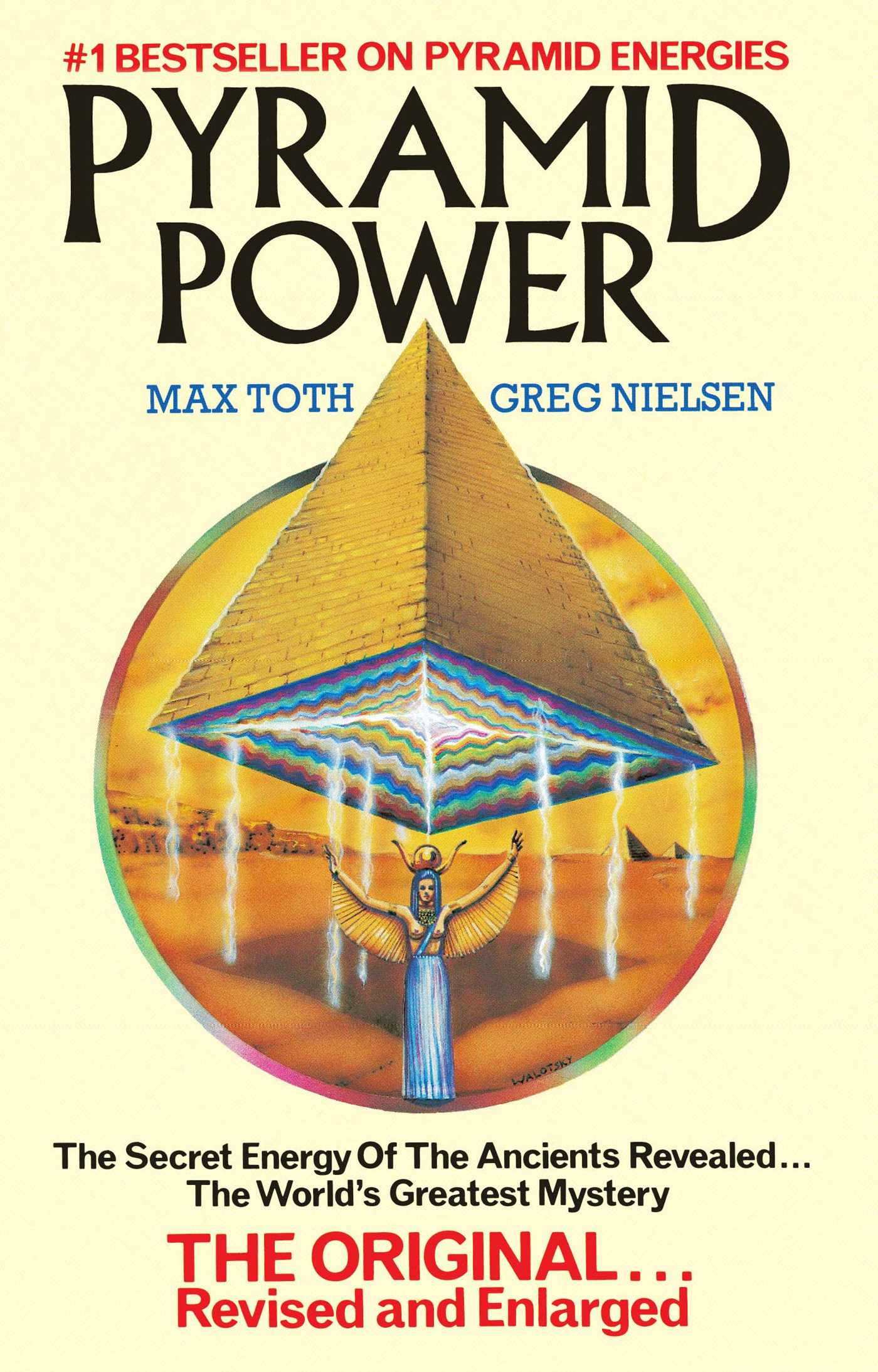 The Energy Detective >> Pyramid Power | Book by Max Toth, Greg Nielsen | Official ...