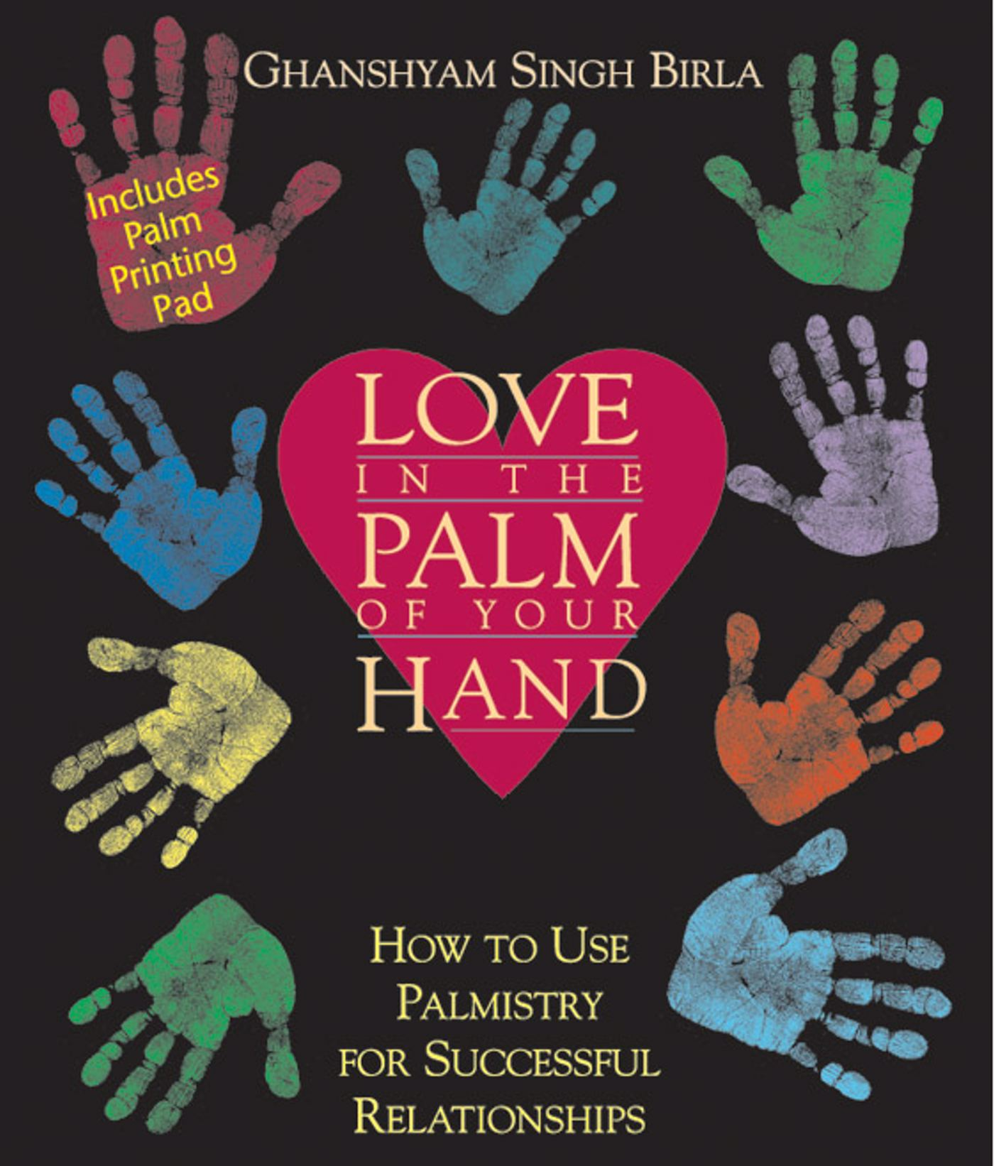 Love in the palm of your hand 9780892817184 hr
