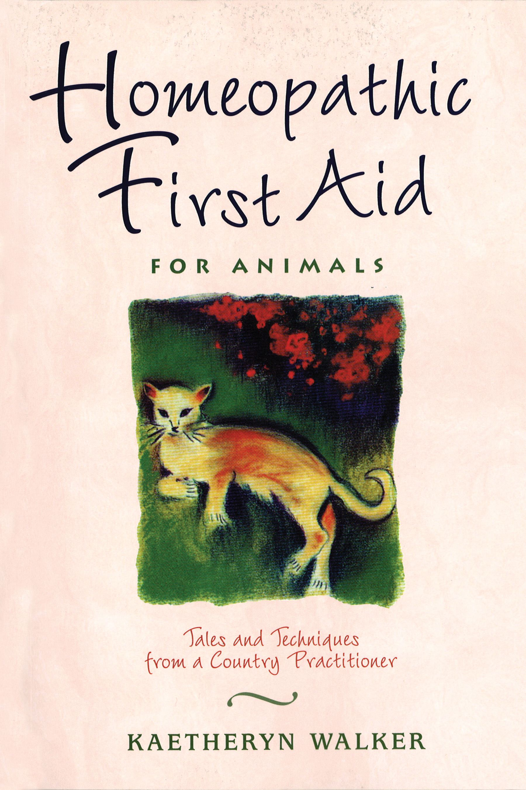 Homeopathic first aid for animals 9780892817375 hr
