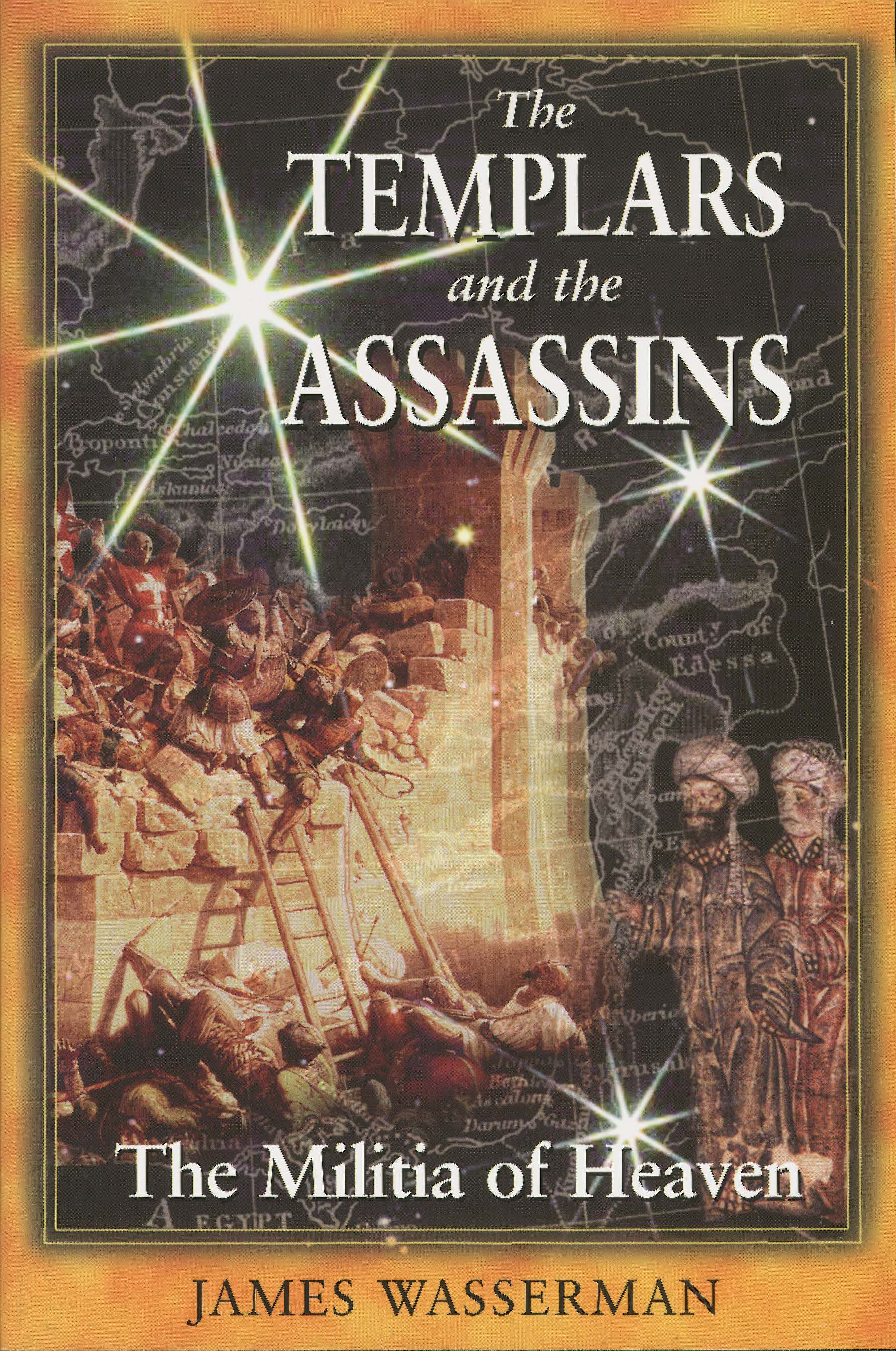 The Templars and the Assassins | Book by James Wasserman