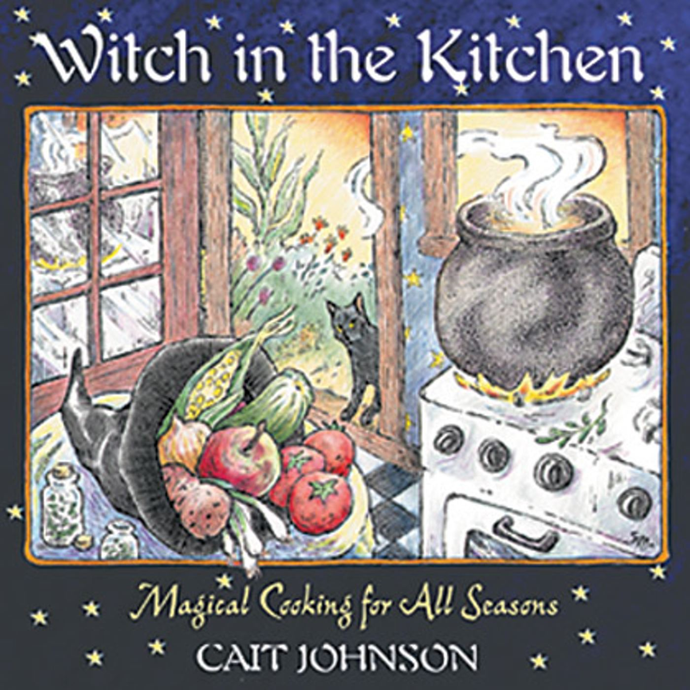 Witch in the kitchen book by cait johnson official publisher witch in the kitchen 9780892819805 hr fandeluxe Gallery