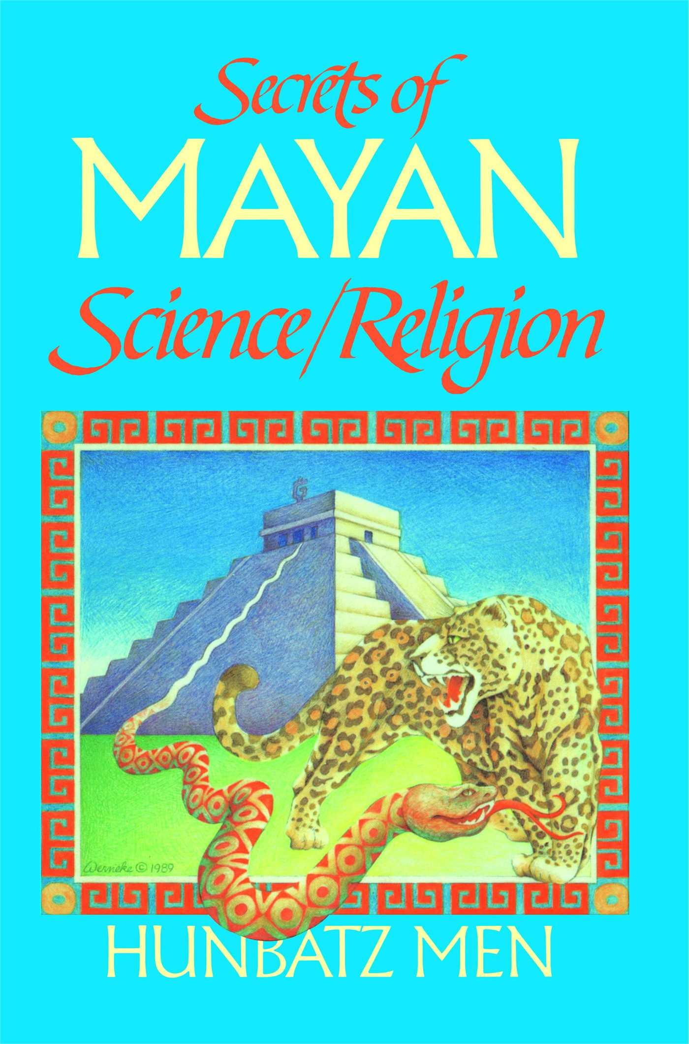 Secrets of mayan science religion 9780939680634 hr