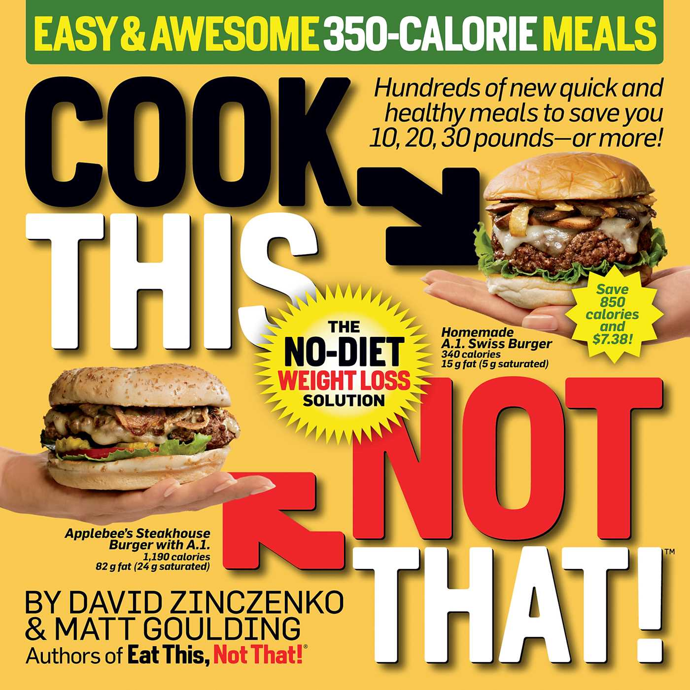 Cook this not that easy awesome 350 calorie meals 9781101884430 hr