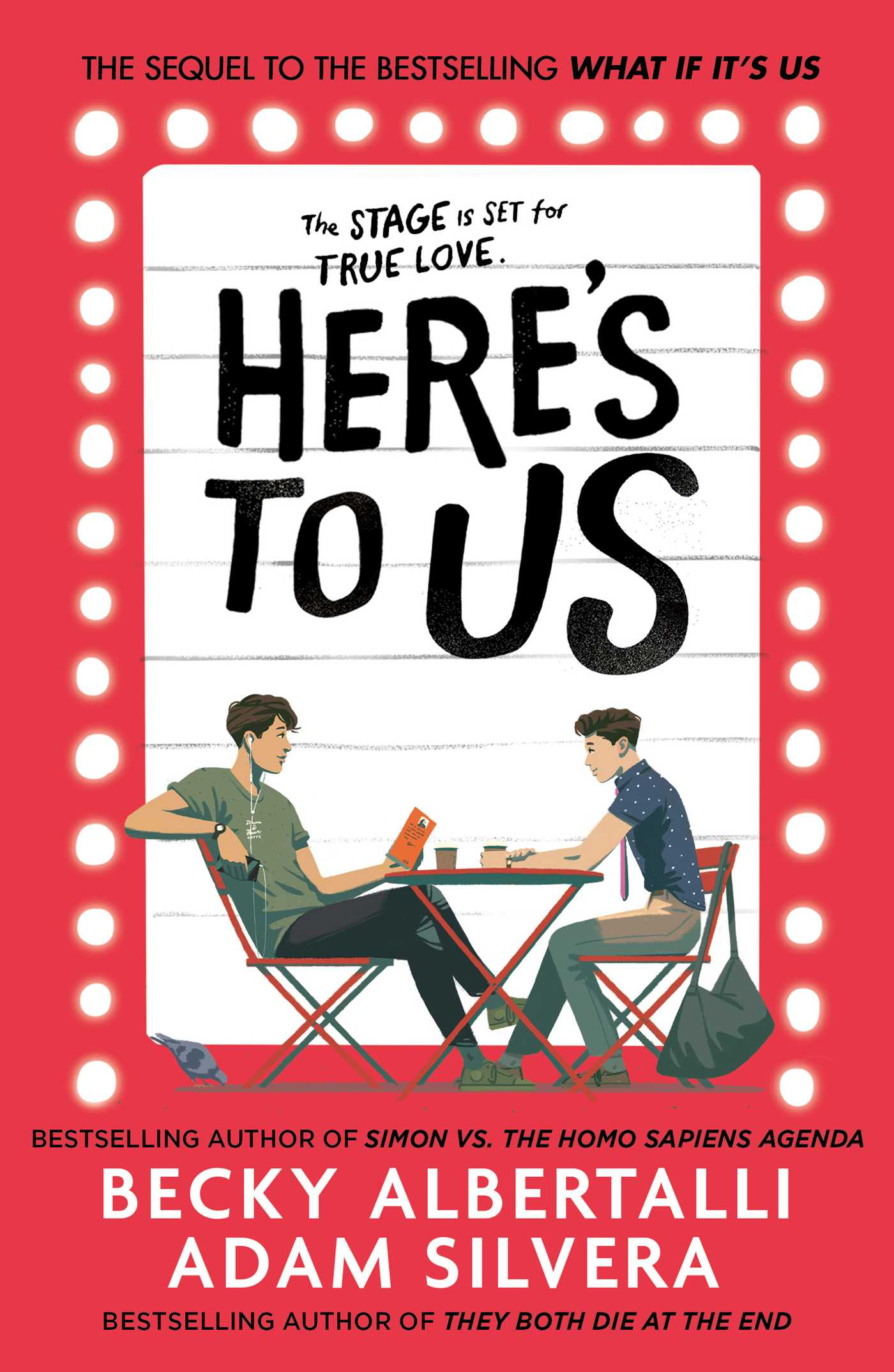 Here's To Us | Book by Adam Silvera, Becky Albertalli | Official Publisher  Page | Simon & Schuster UK