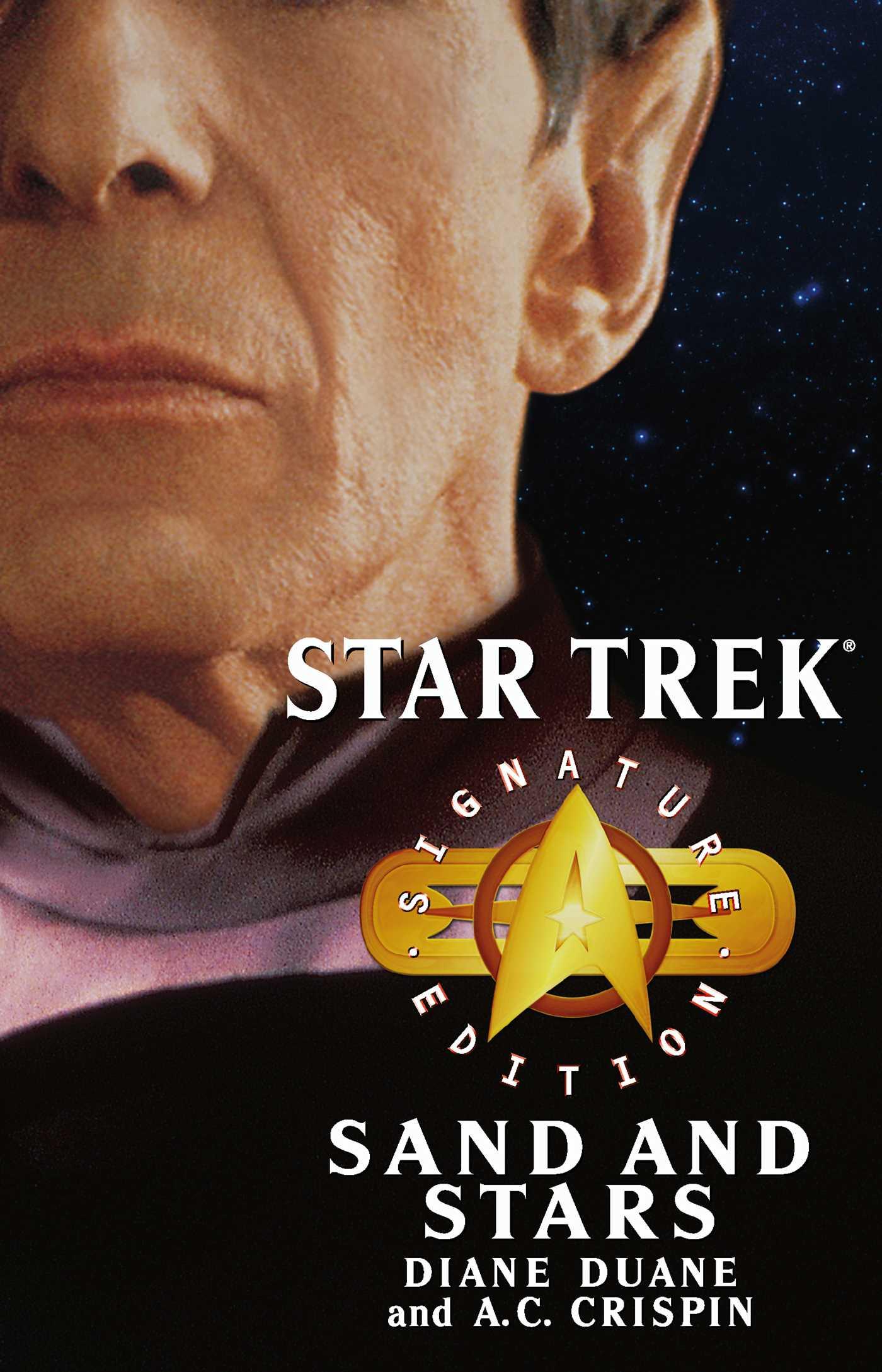 Star trek signature edition sand and stars 9781416500063 hr