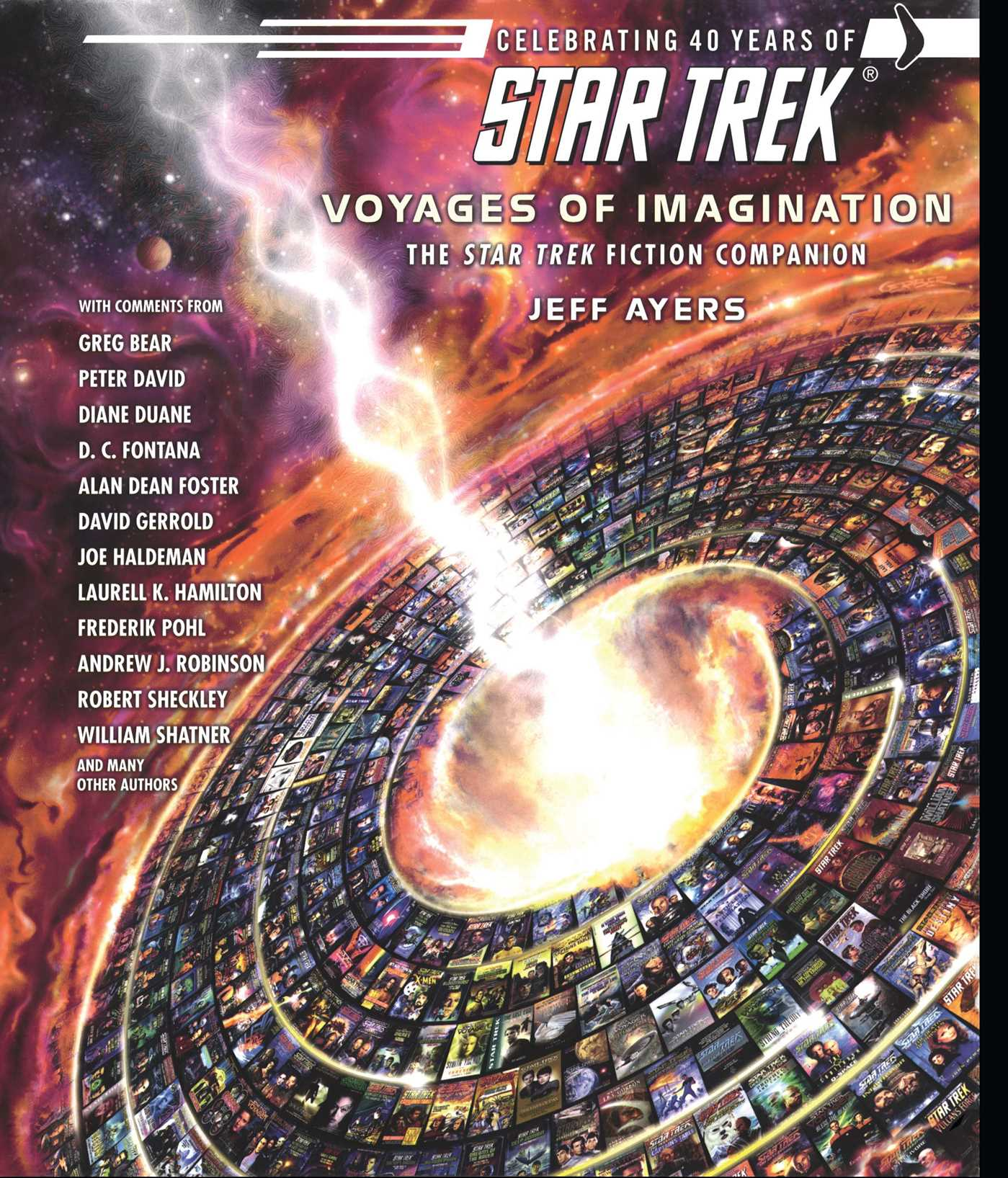 Star trek voyages of imagination the star trek fiction companion 9781416503491 hr