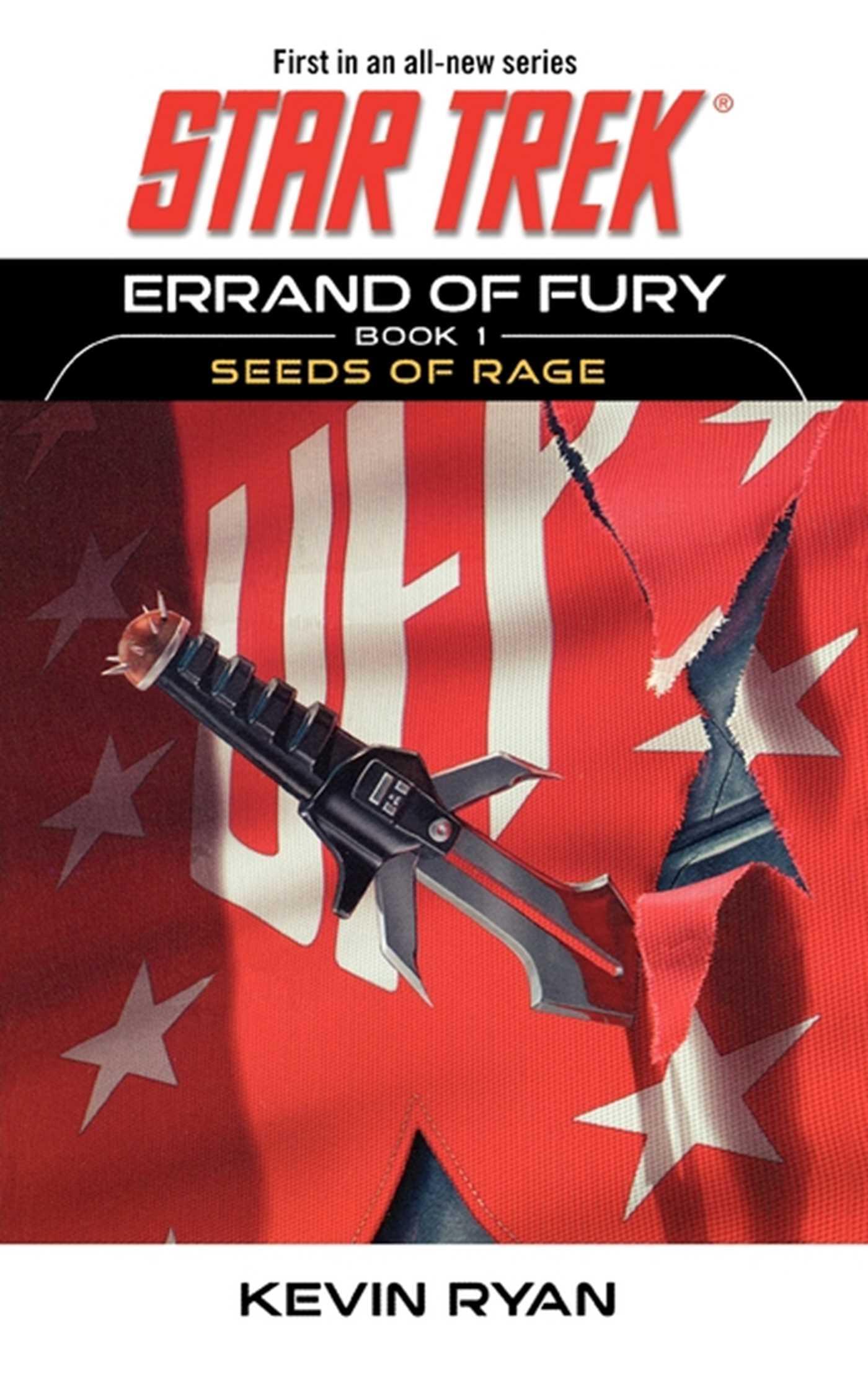 Star trek the original series errand of fury book 1 seeds of rage 9781416506768 hr