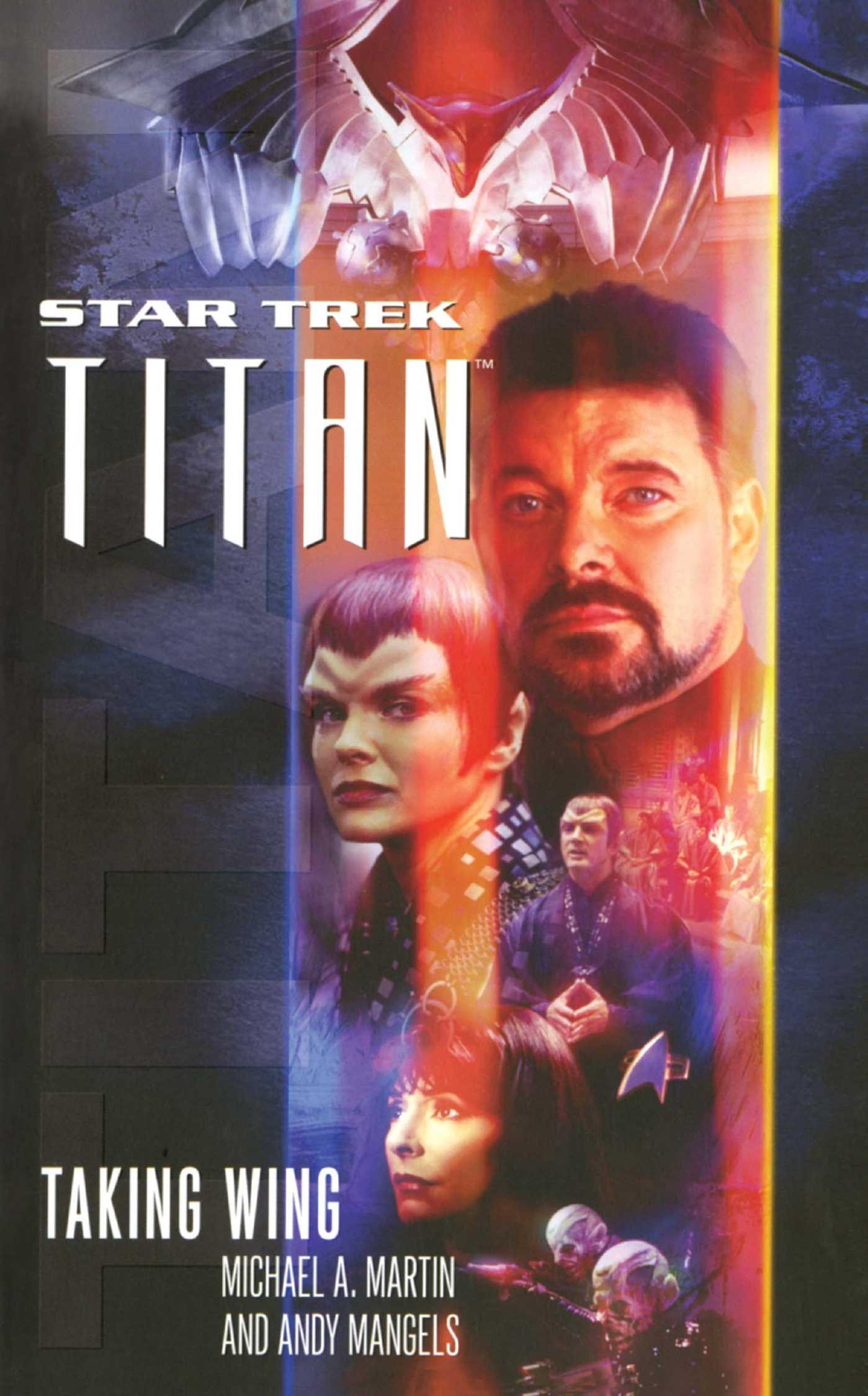 Star trek titan 1 taking wing 9781416506775 hr