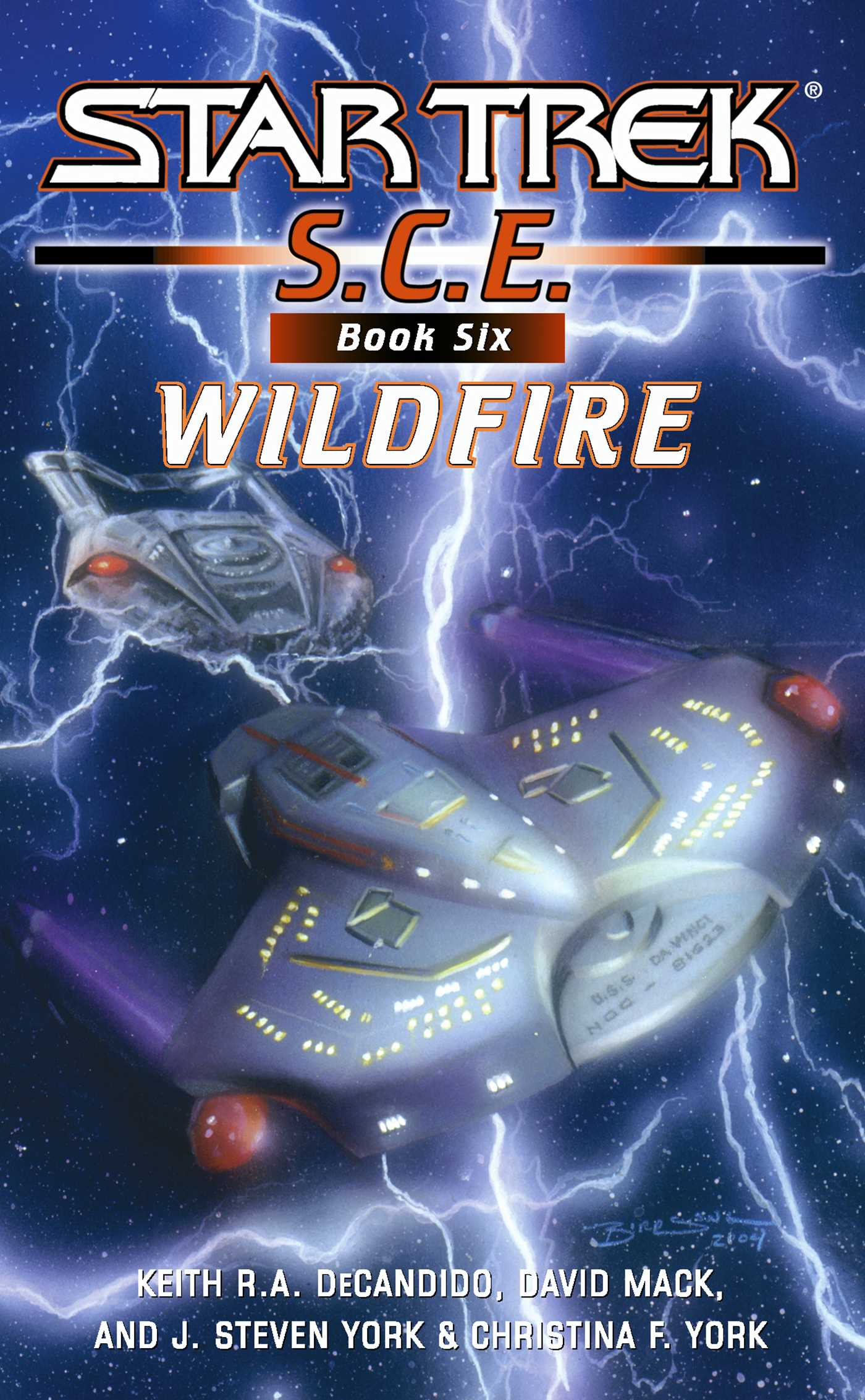 Star trek corps of engineers wildfire 9781416507888 hr
