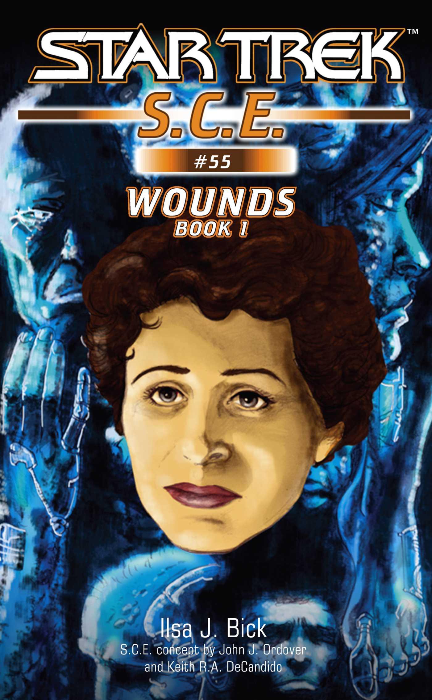 Star trek wounds book 1 9781416509608 hr