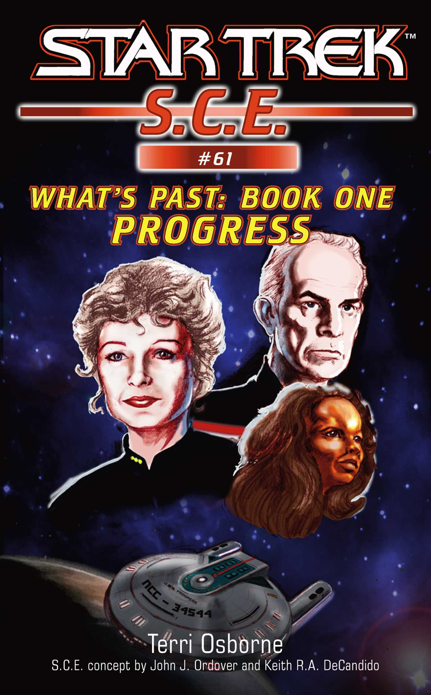 Star trek progress 9781416520450 hr