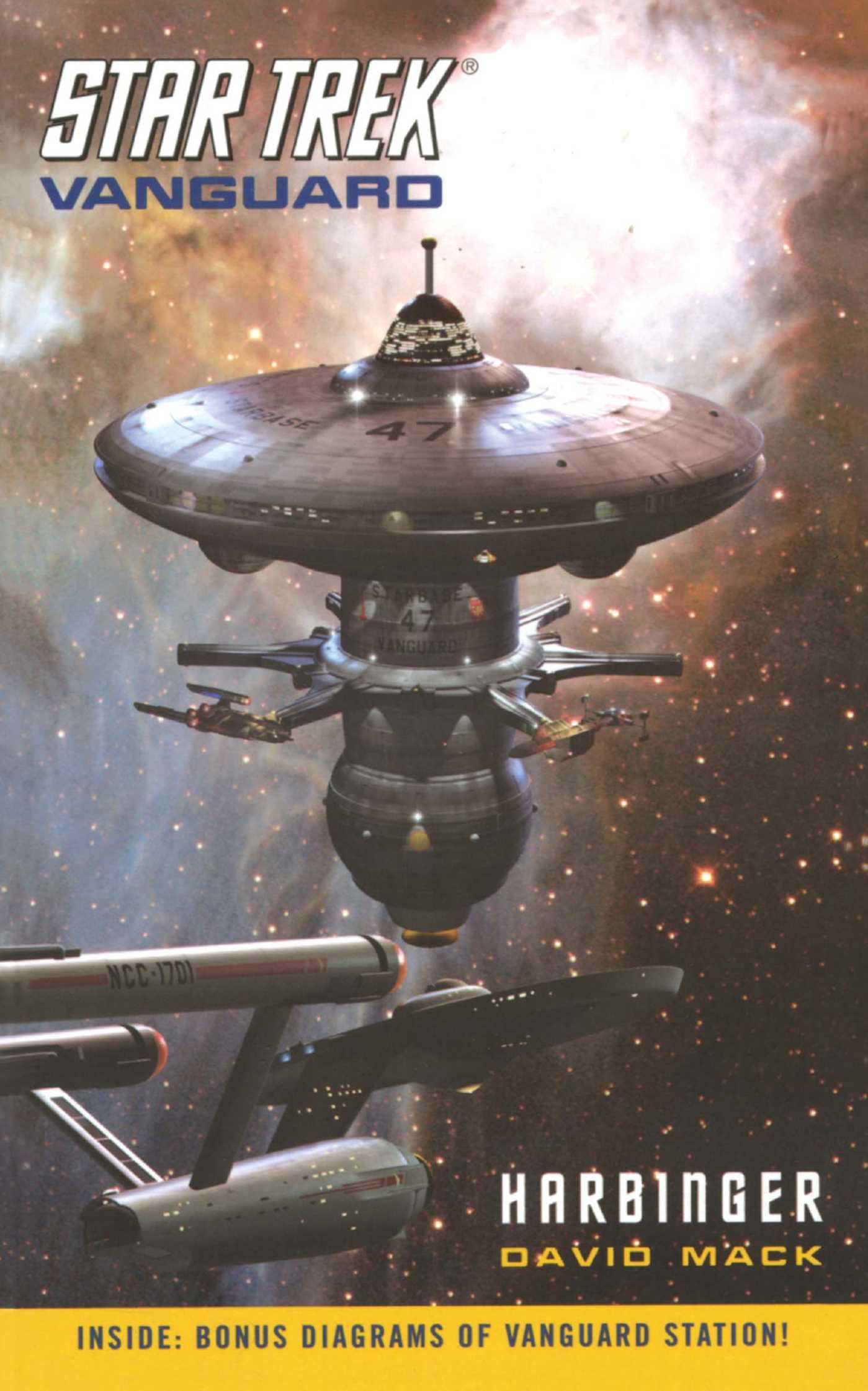 Star trek vanguard 1 harbinger 9781416521815 hr
