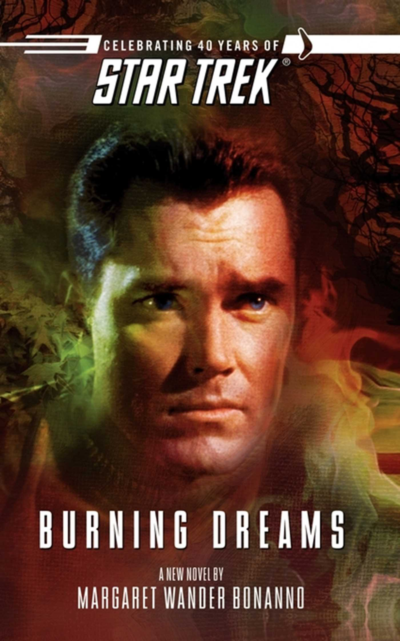 Star trek the original series burning dreams 9781416525370 hr