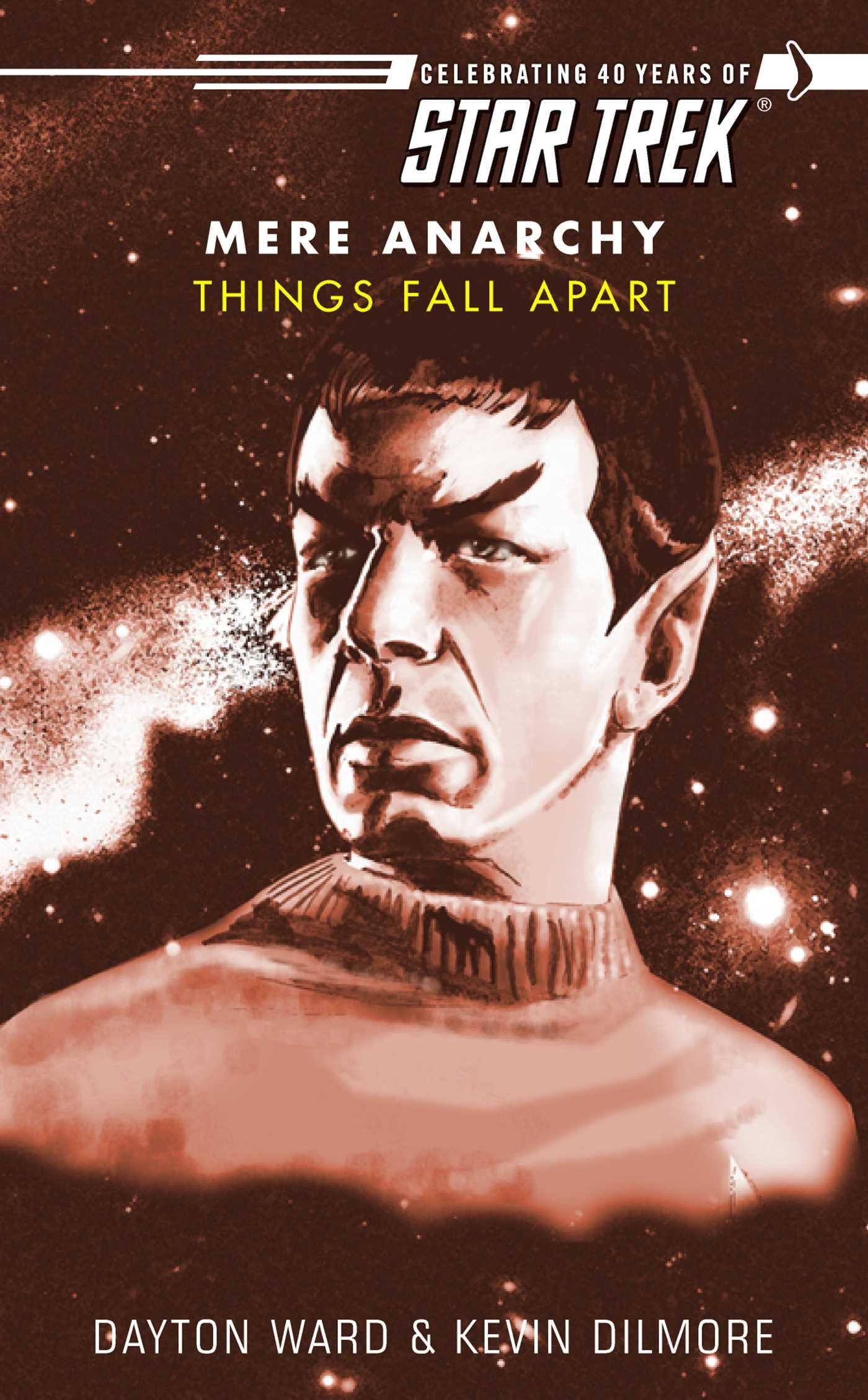 Star trek things fall apart 9781416534372 hr