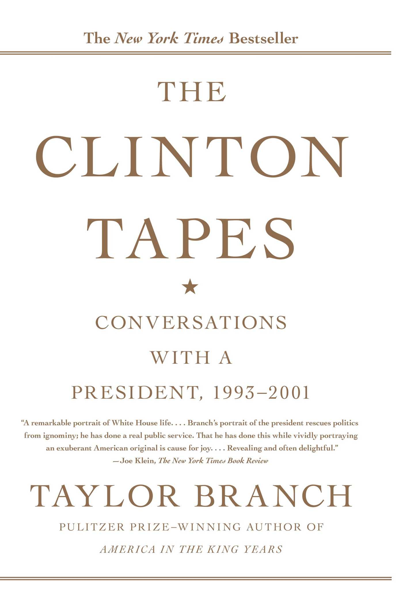 Clinton tapes 9781416543343 hr