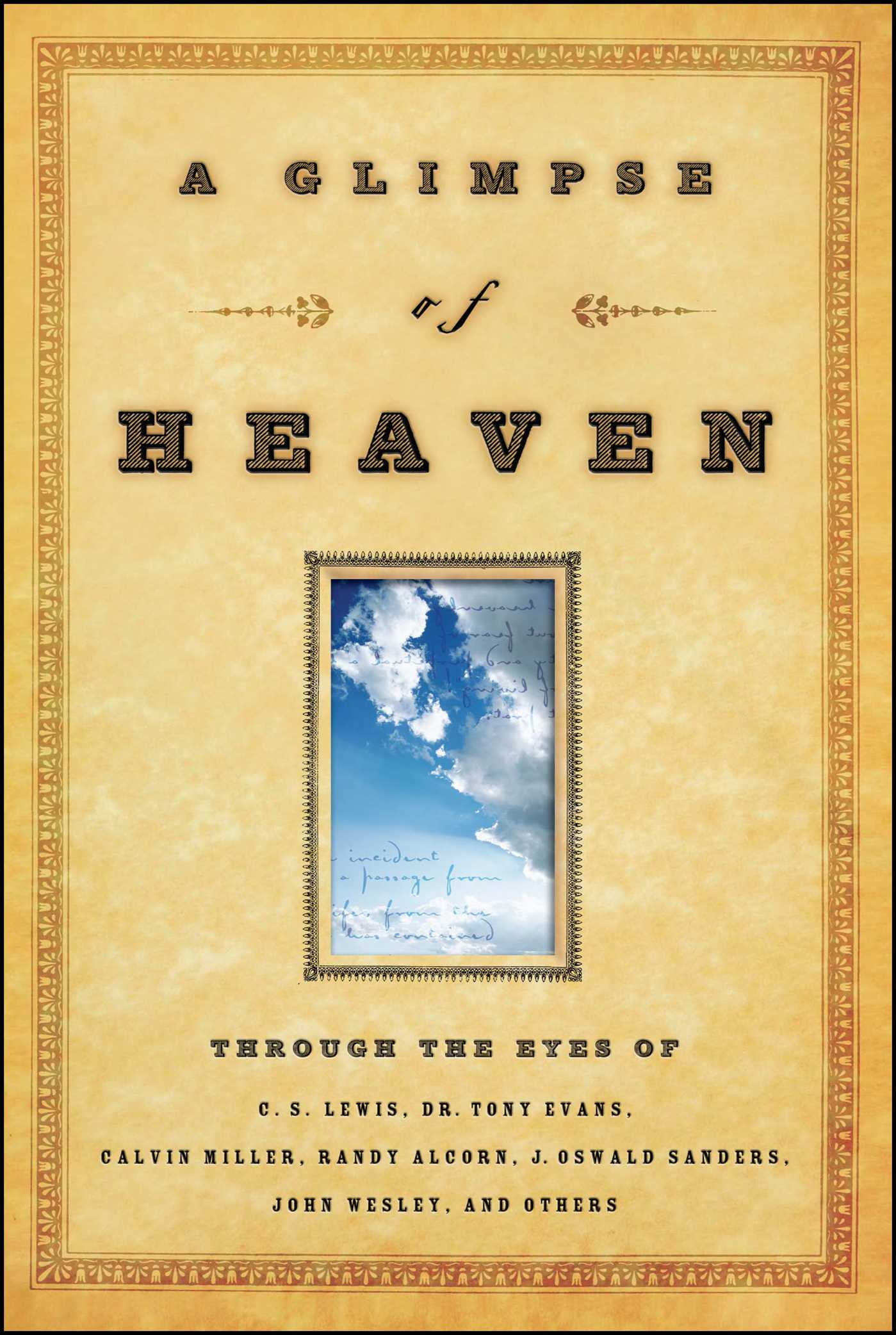 A glimpse of heaven 9781416543923 hr