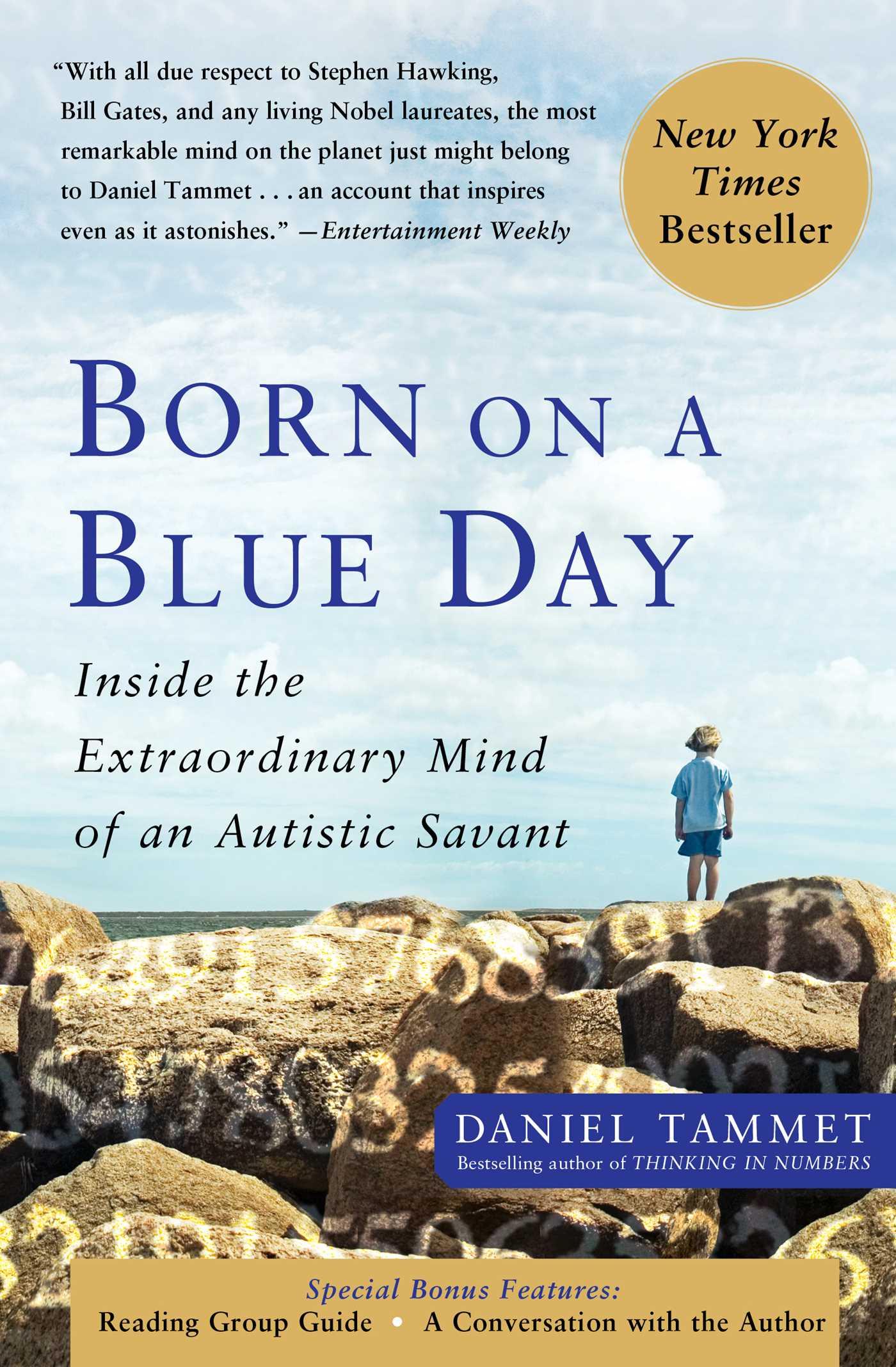 Born on a blue day 9781416549017 hr