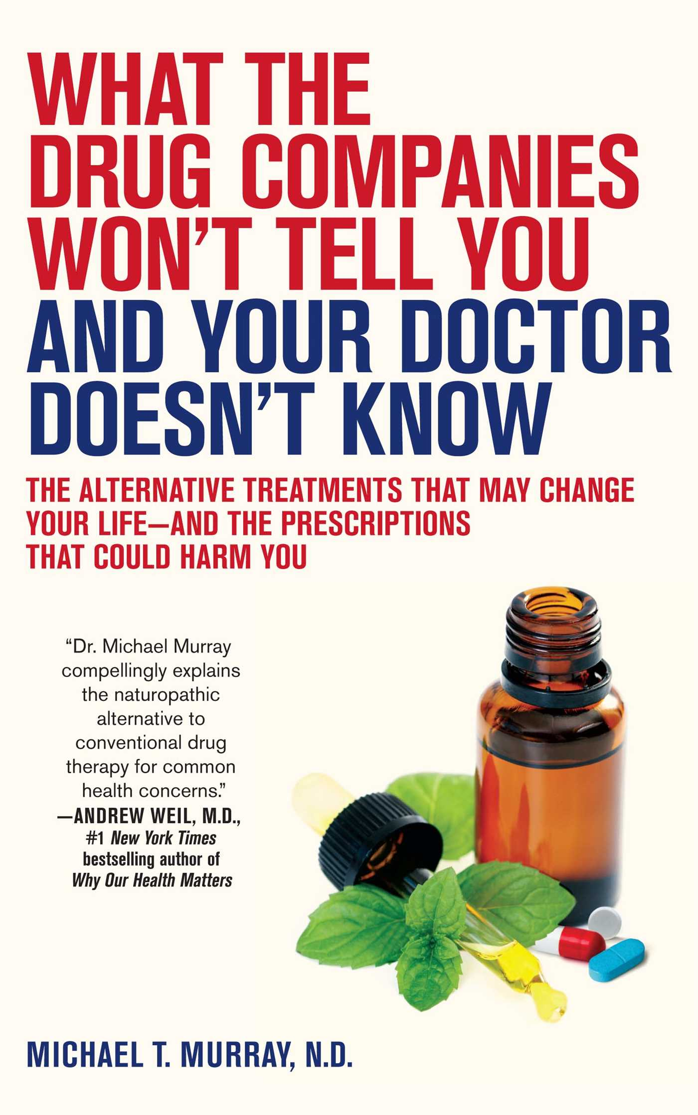 What the drug companies wont tell you and your 9781416549390 hr