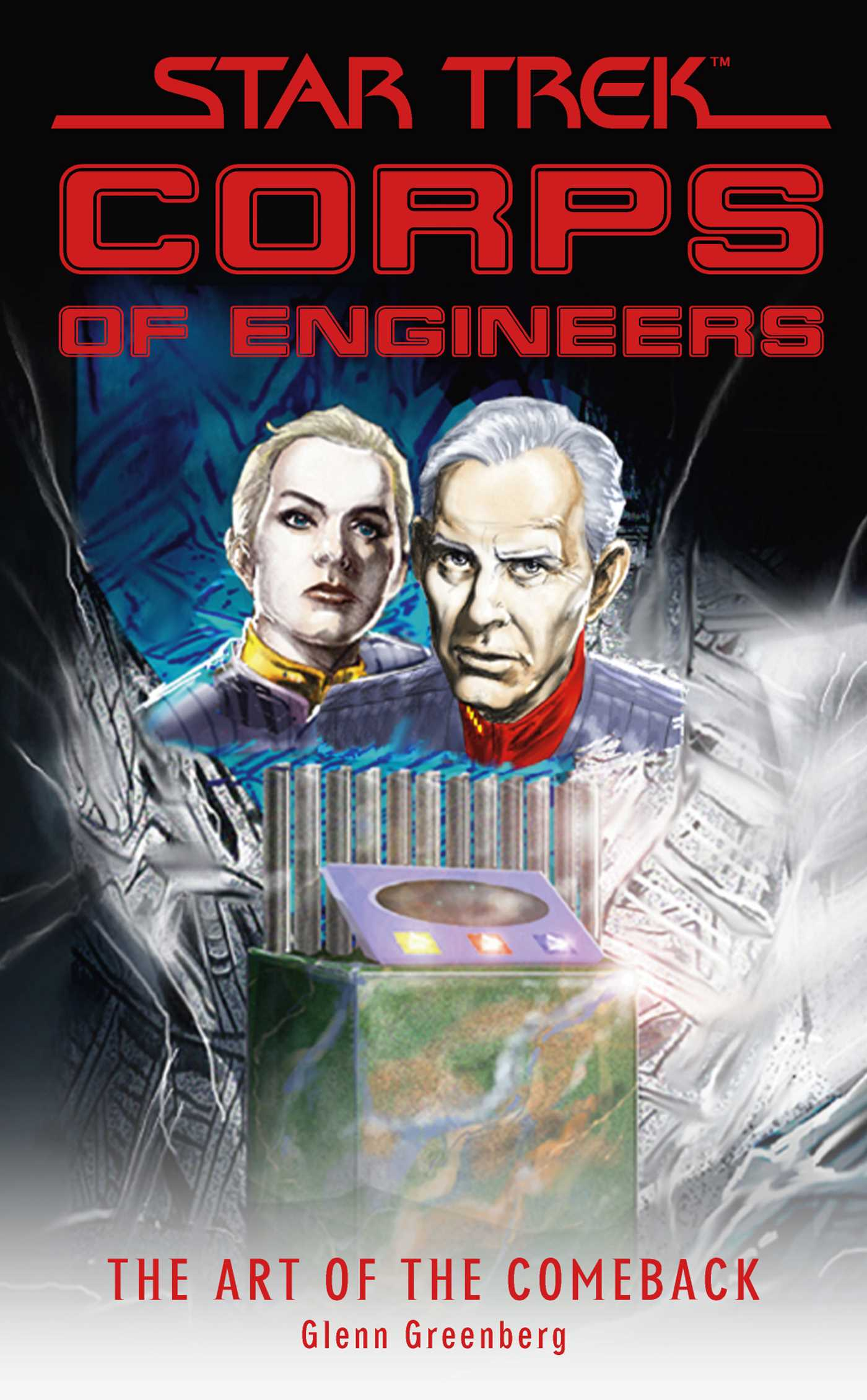 Star trek corps of engineers the art of the comeback 9781416549789 hr