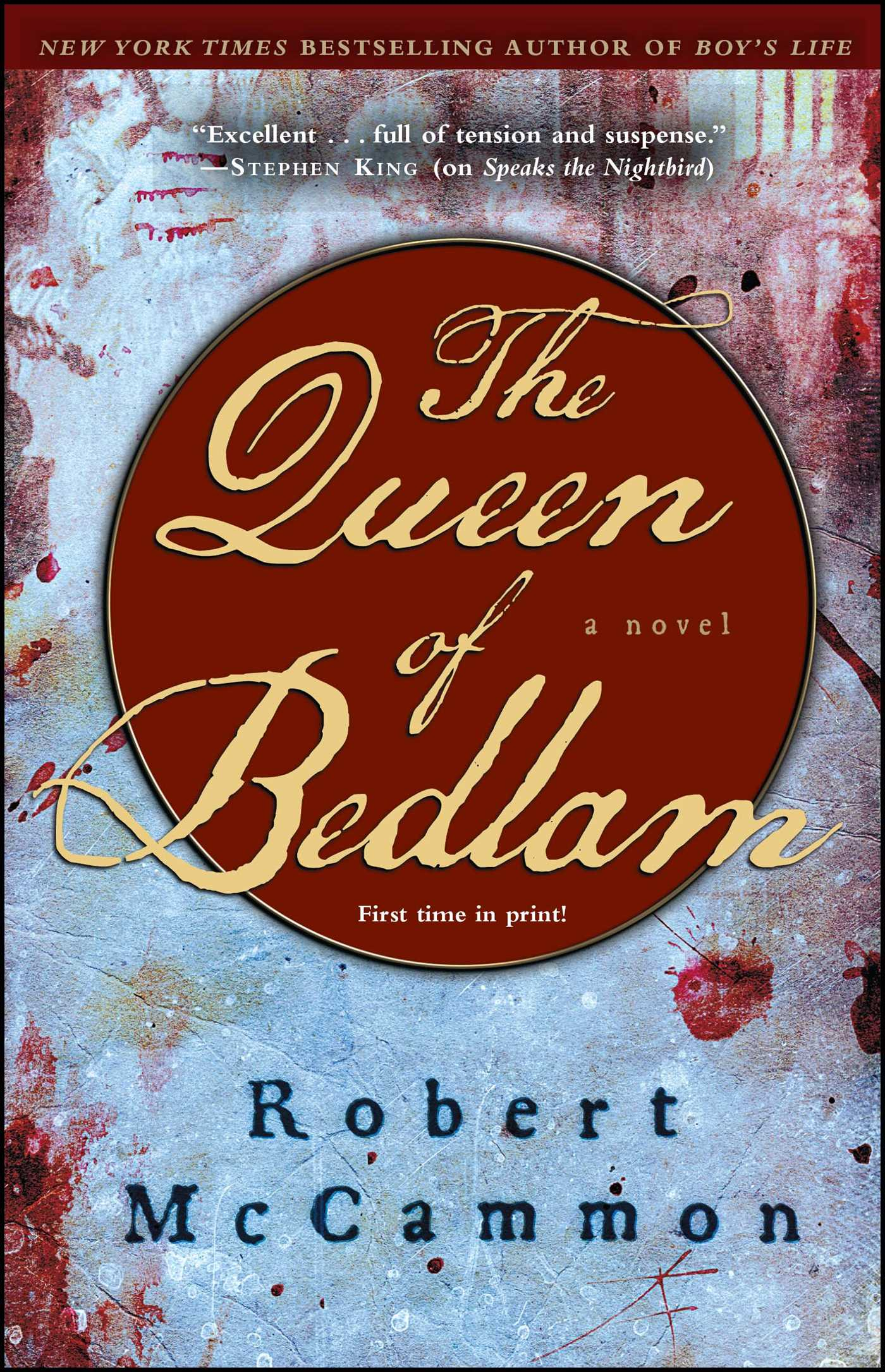 The Queen of Bedlam | Book by Robert McCammon | Official